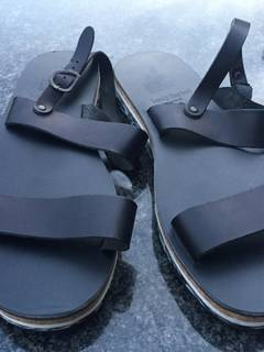 8954dcd487ea Ancient Greek Sandals × Casely Hayford Men s Sandals.