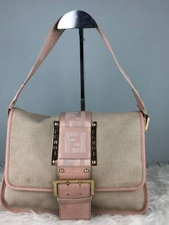 0e1c9b39a1d Fendi RARE & COLLECTION Authentic Fendi Monogram Denim Zucca FF Tote Bag / Fendi  Bag /