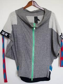 Bernhard Willhelm Tie-Dye Hooded Sweatshirt