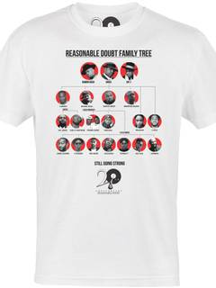 Jay z grailed jay z jay z reasonable doubt 20th anniversary t shirt numbered 13 of 300 roc malvernweather Gallery