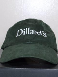 Dillards × Vintage Embroidered Forest Green Cap 8d5ebaf63db