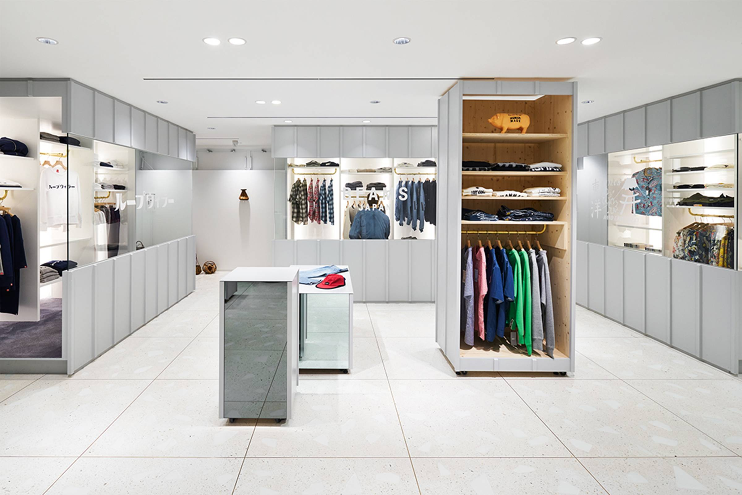 Influential japanese lifestyle and apparel brand beams has - Brands Like Sasquatchfabrix Facetasm And Digawel Are Respected For Their Imaginative Collections But Shoppers In The West Rarely Get To See Them In Store