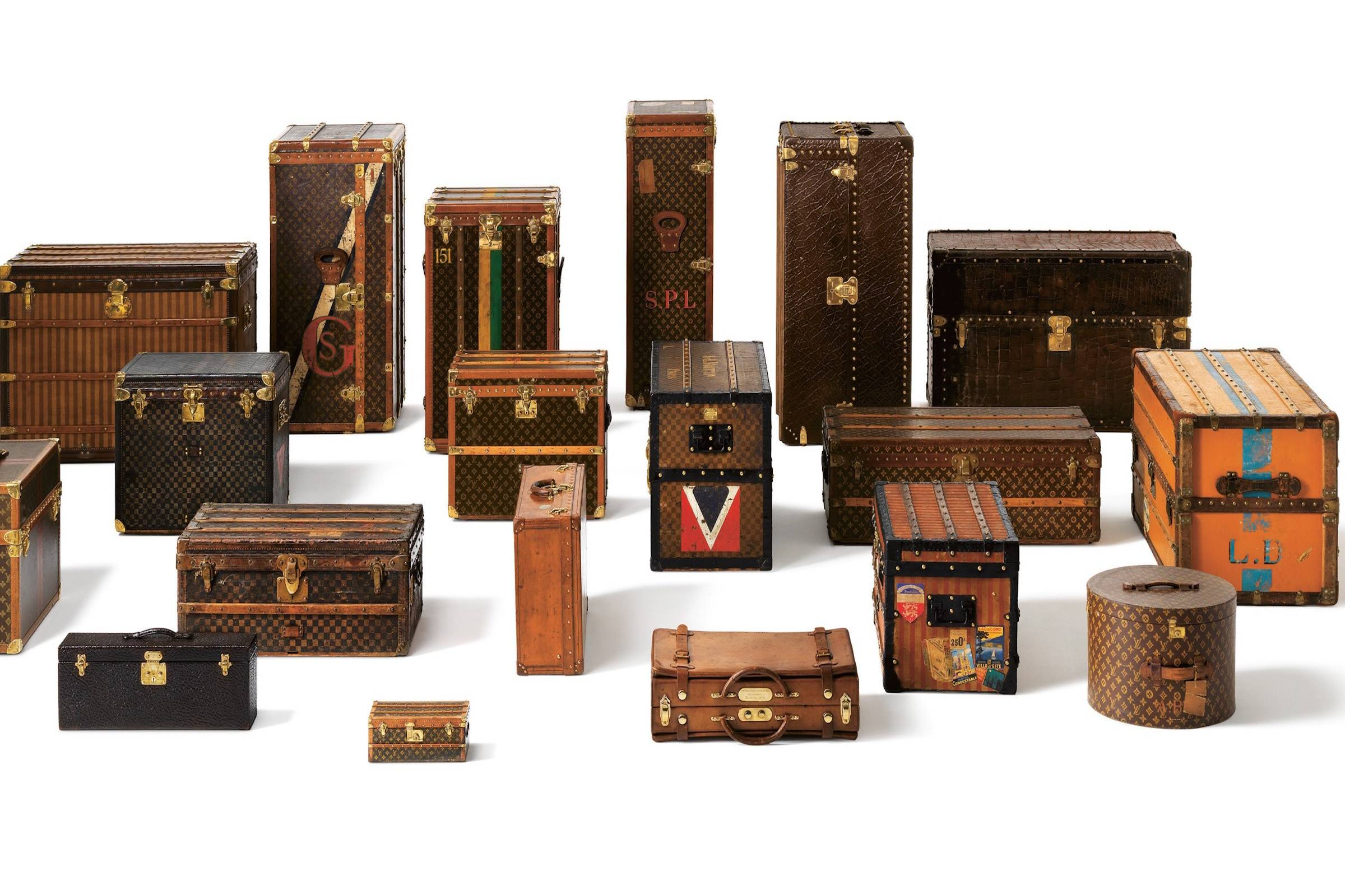 the greatest travel brand on earth a history of louis vuitton luggage and the lv monogram. Black Bedroom Furniture Sets. Home Design Ideas