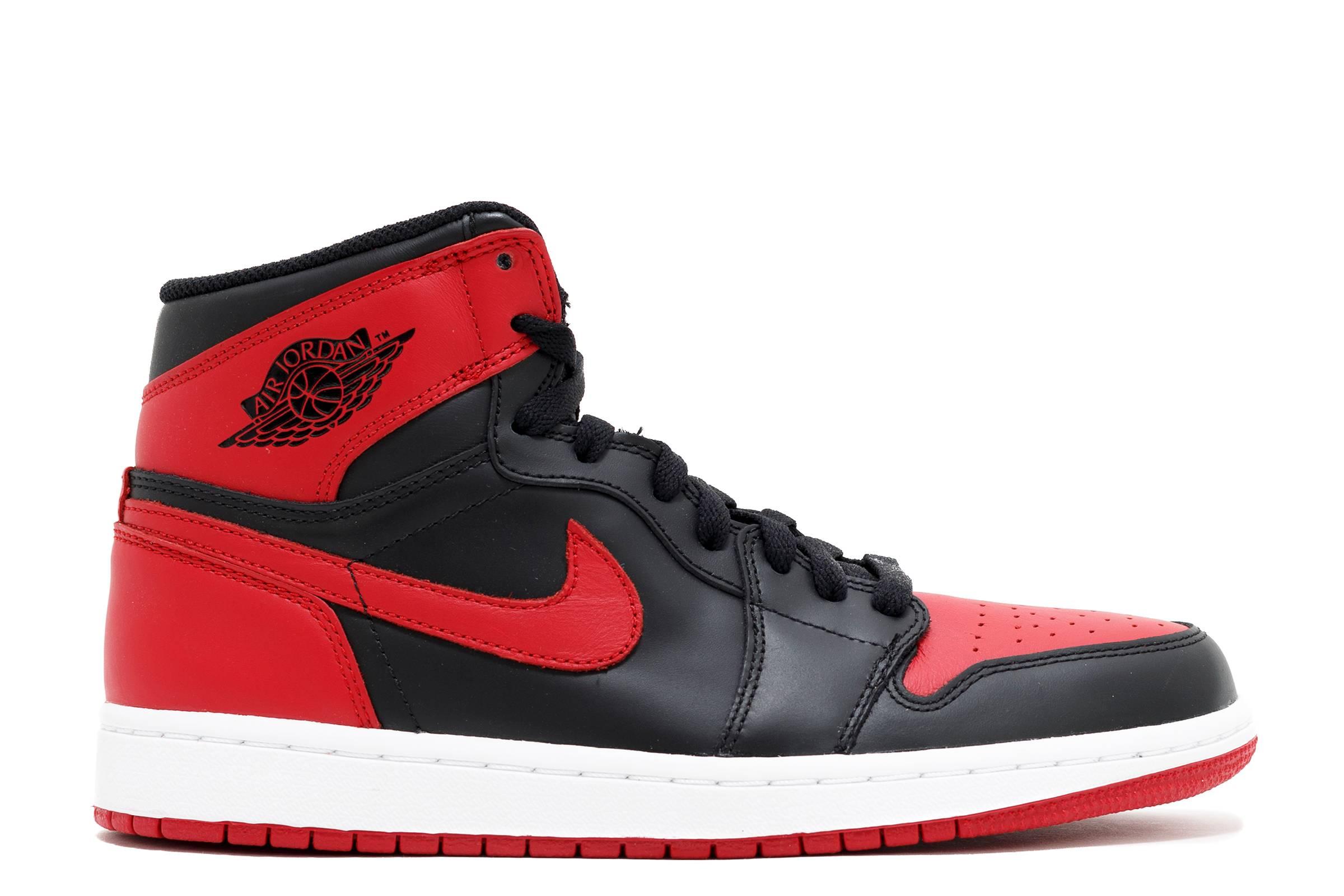 Men's Nike Air Jordan Alpha 1 White Varsity Red Sneakers : E29f8178