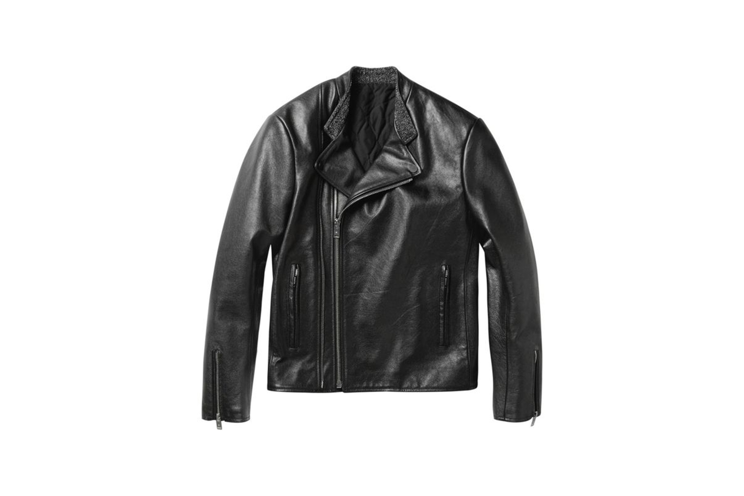 Leather jacket aesthetic - Balenciaga S Fall Winter 2012 Collection Saw The French Luxury Label Step Away From Its Ordinarily Tight Tailored Super Clean Aesthetic By Presenting A