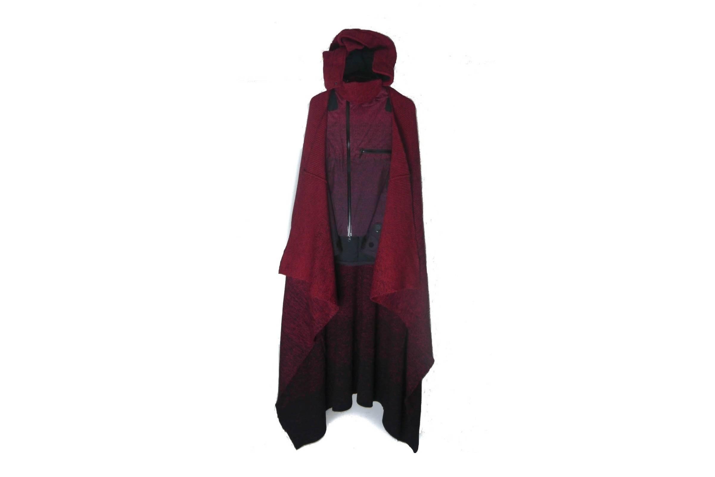 """Undercover Fall/Winter 2009 """"Earmuff Maniac"""" Cloak"""