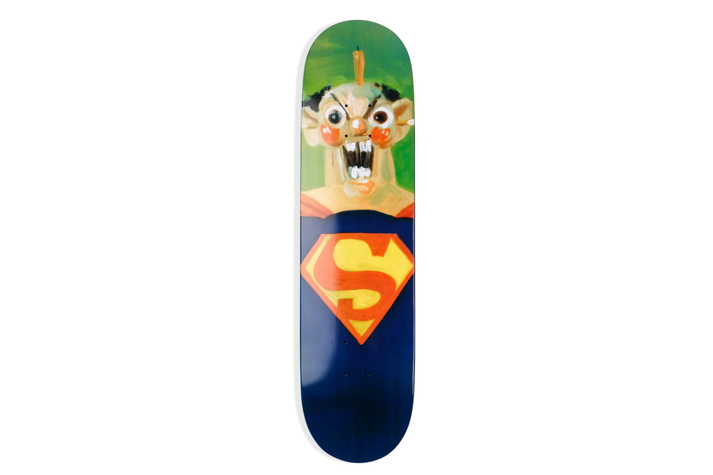"""Supreme x George Condo """"Superman"""" Deck"""