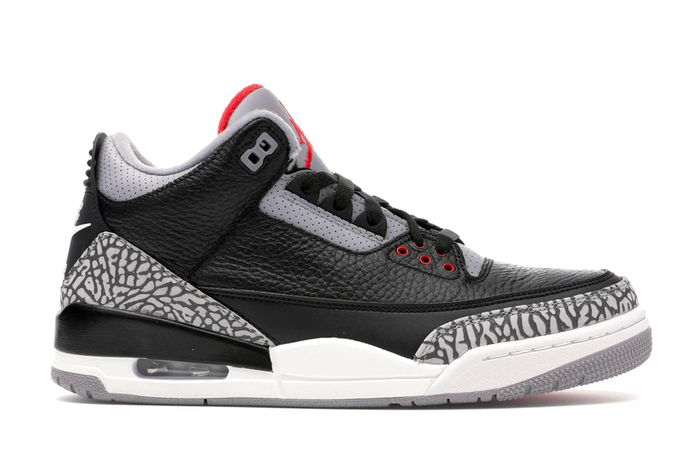 """Jordan III """"Black Cement"""""""