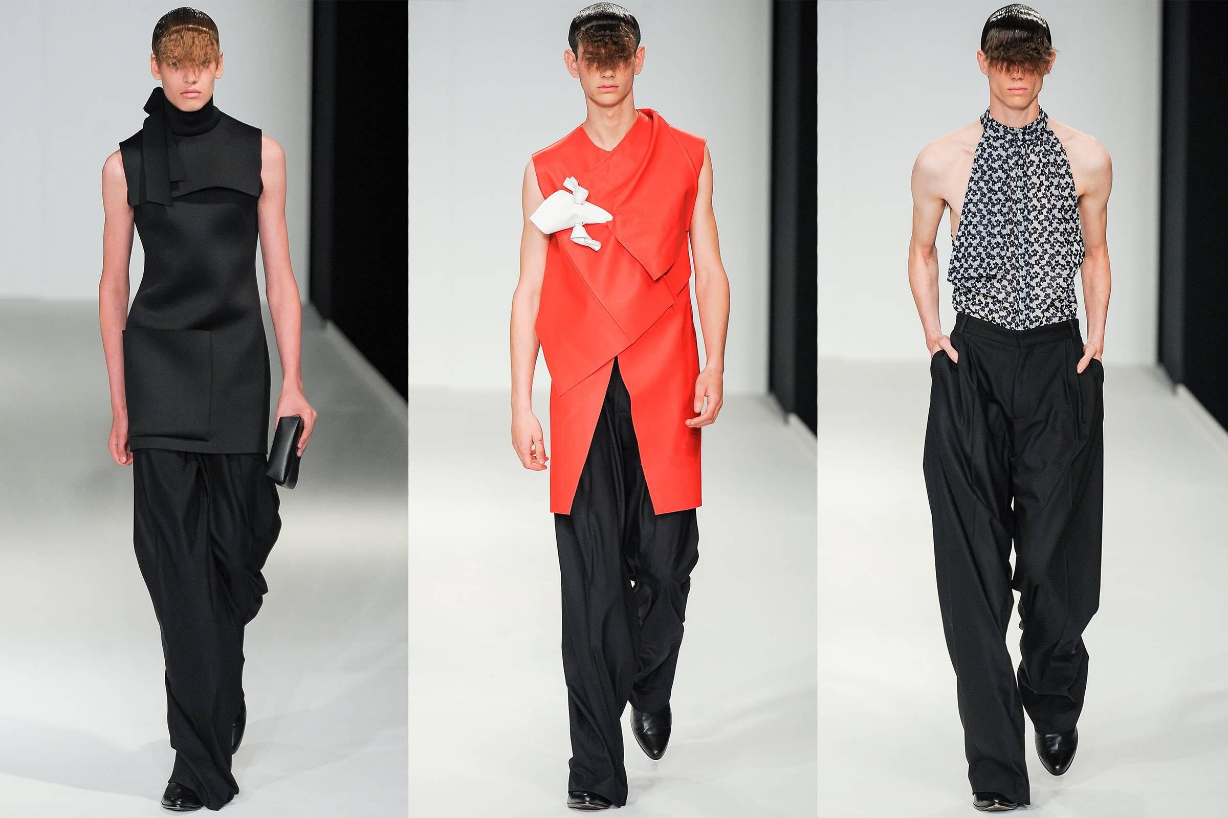 J.W. Anderson Spring/Summer 2014 Menswear