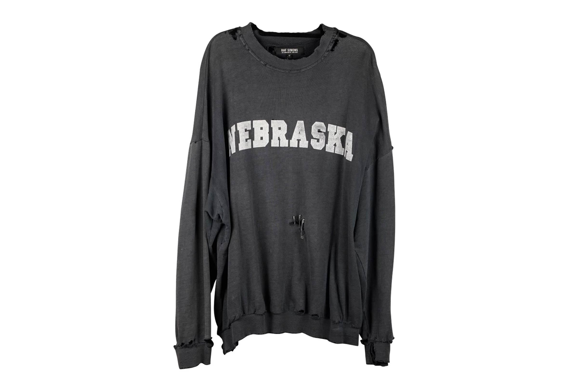 "Raf Simons ""Nebraska"" Crewneck Sweatshirt"