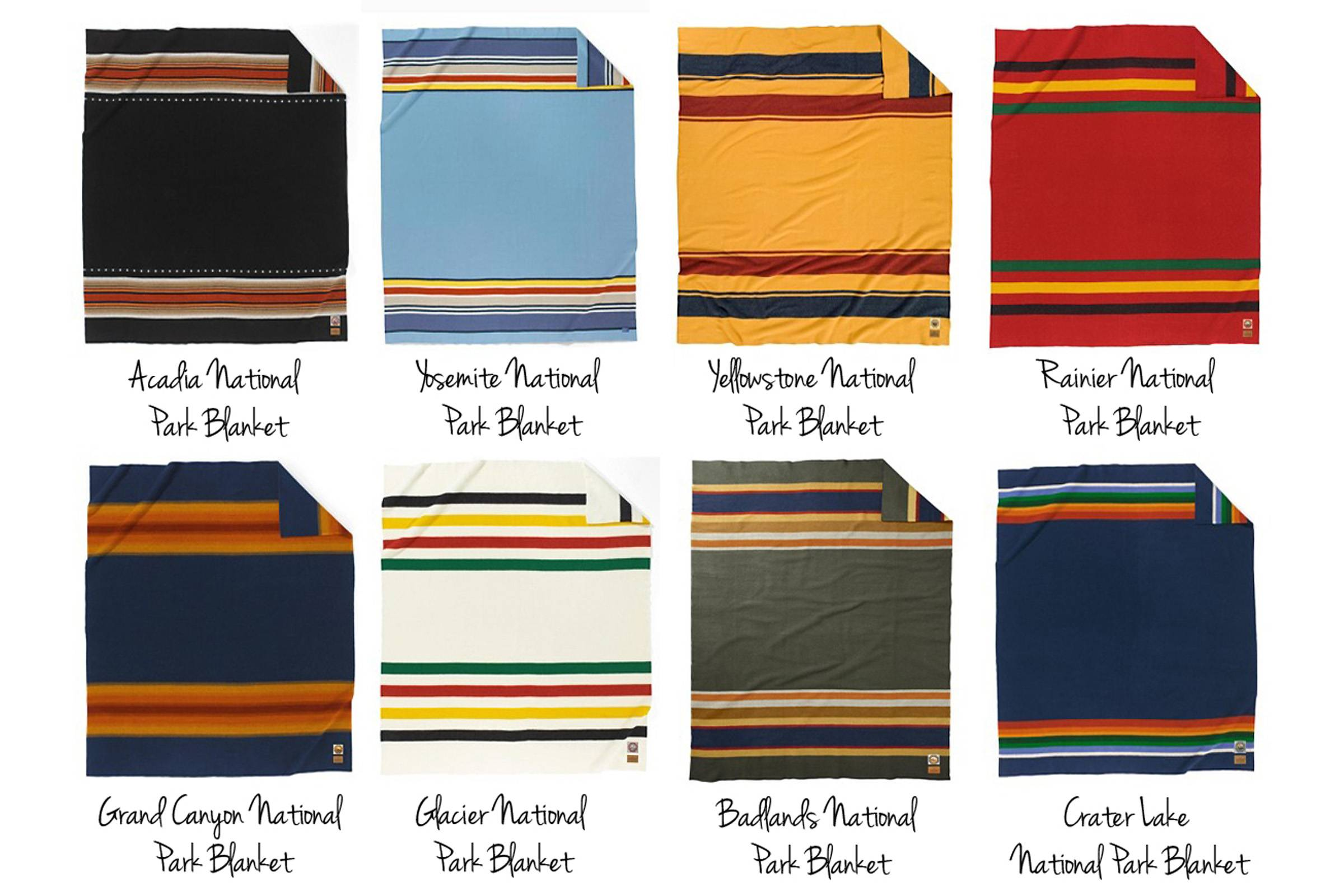 Pendleton's series of blankets honoring American National Parks