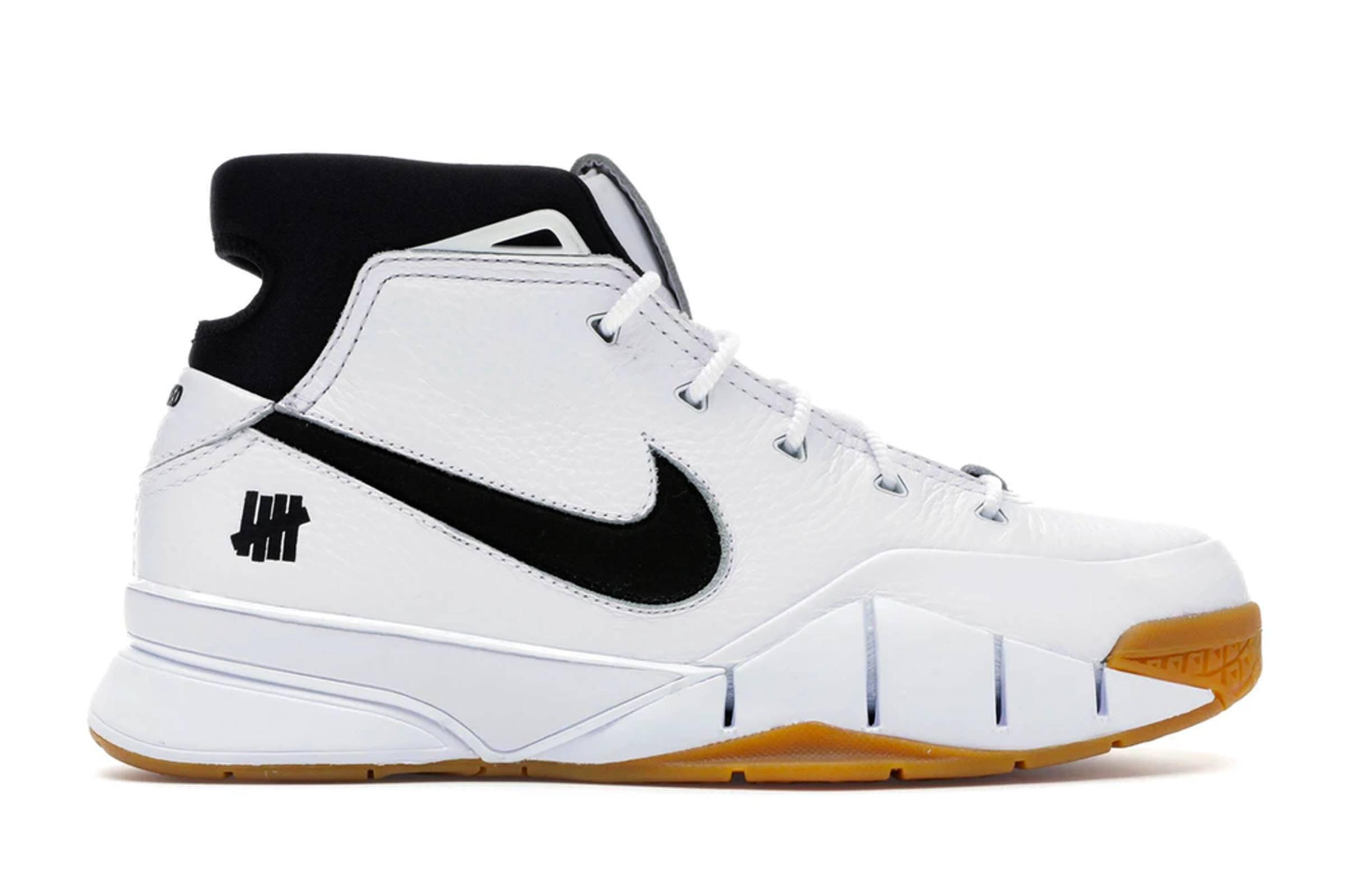 """Undefeated x Nike Kobe I Protro """"White Gum"""""""