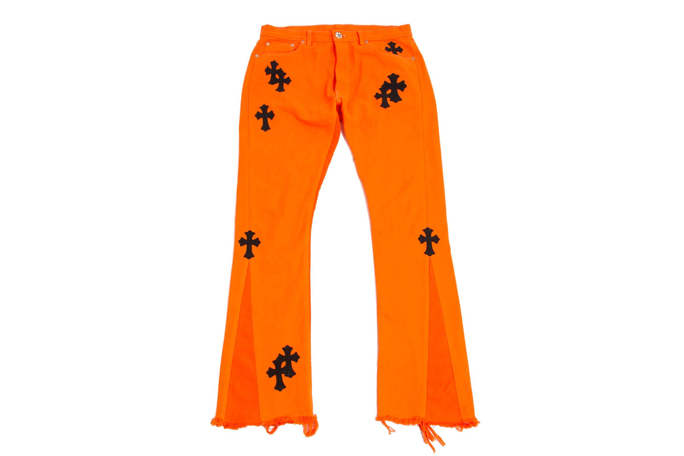 Off-White x Chrome Hearts Jeans