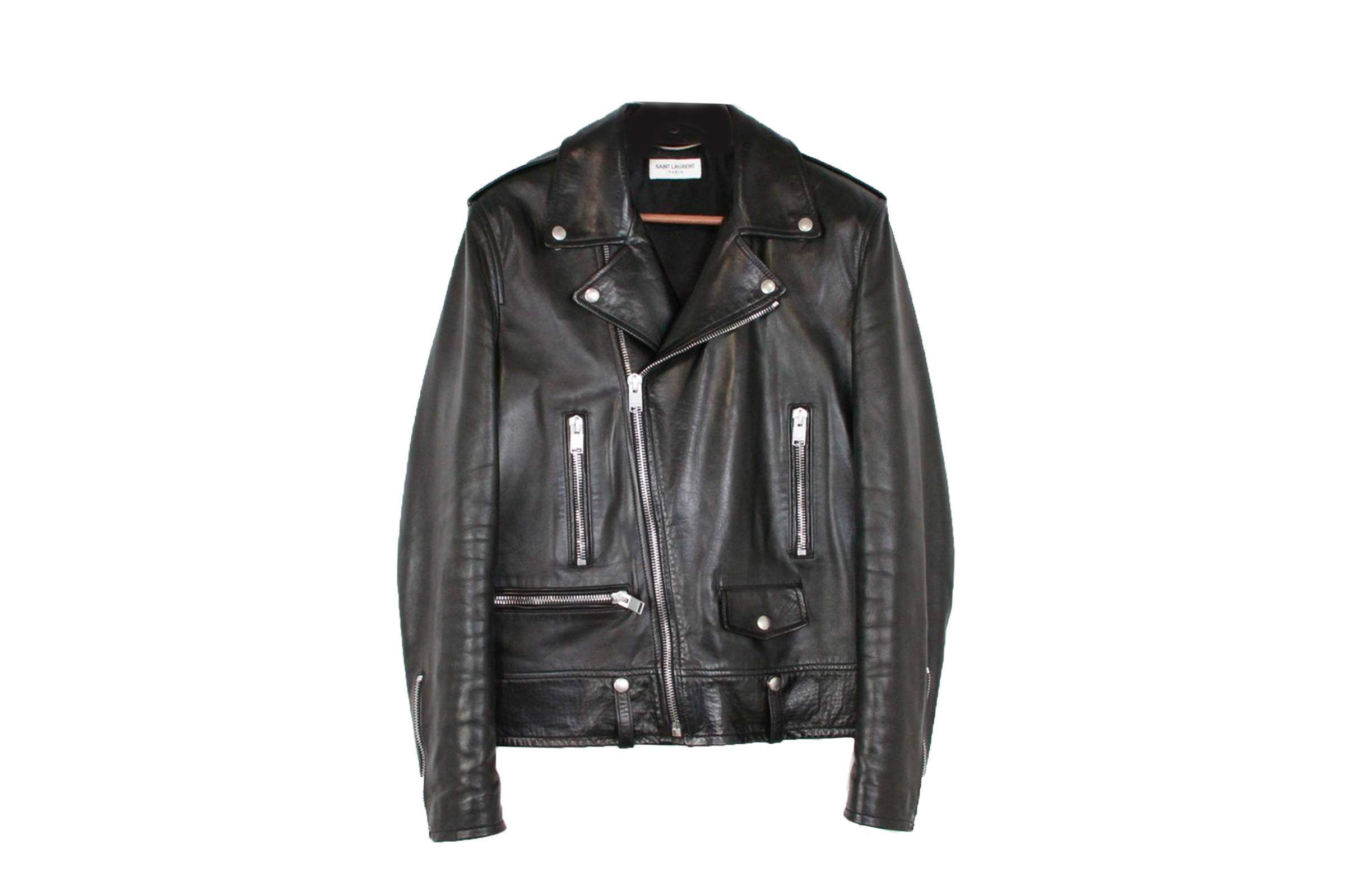 Saint Laurent Paris L01 Biker Jacket