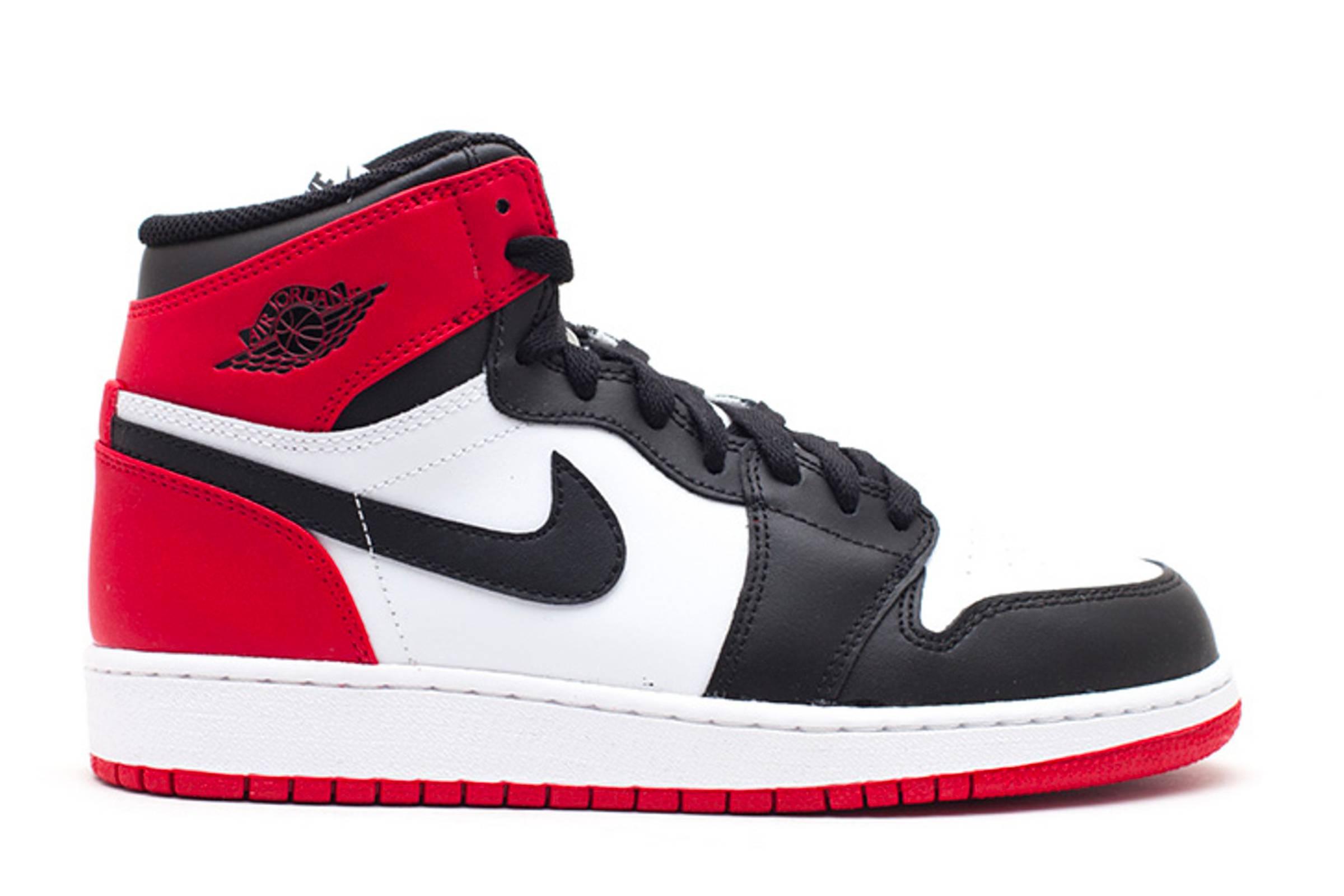 """Jordan I """"Black Toe"""""""