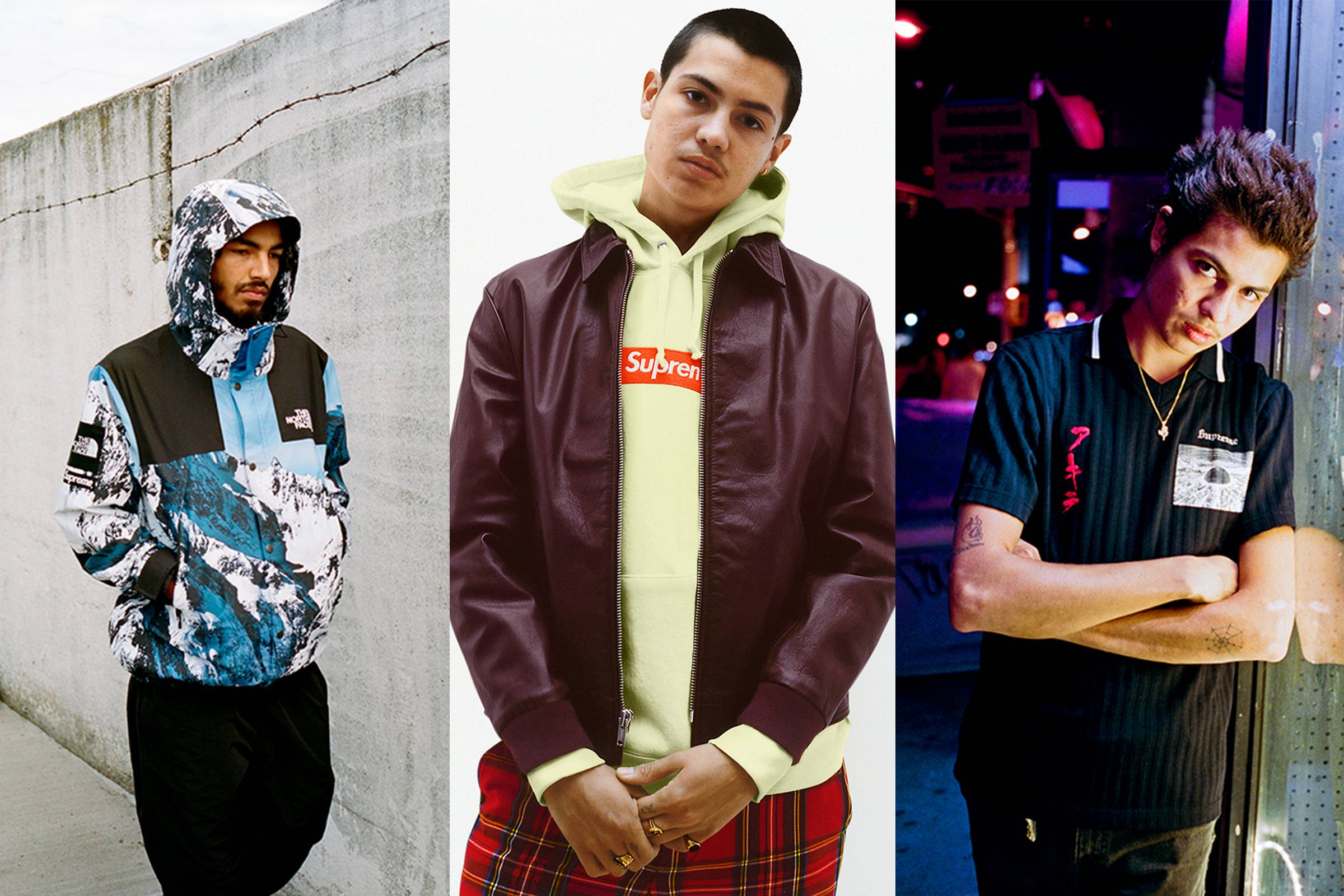 Our Favorite Pieces from Supreme Fall/Winter 2017
