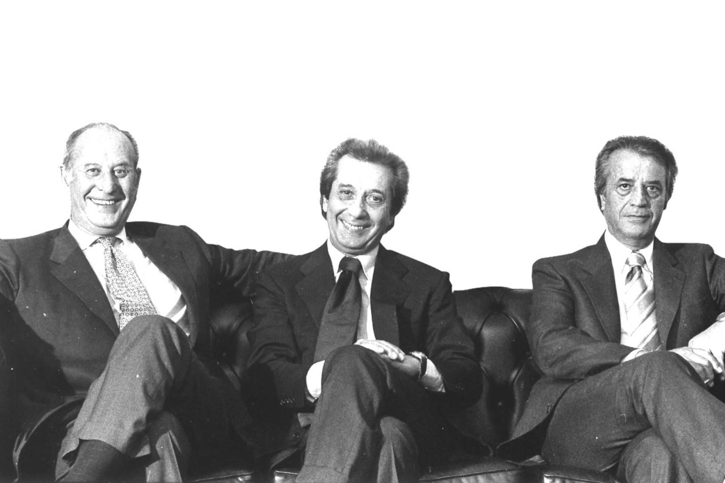 Enrico, Rosario and Corrado Isaia