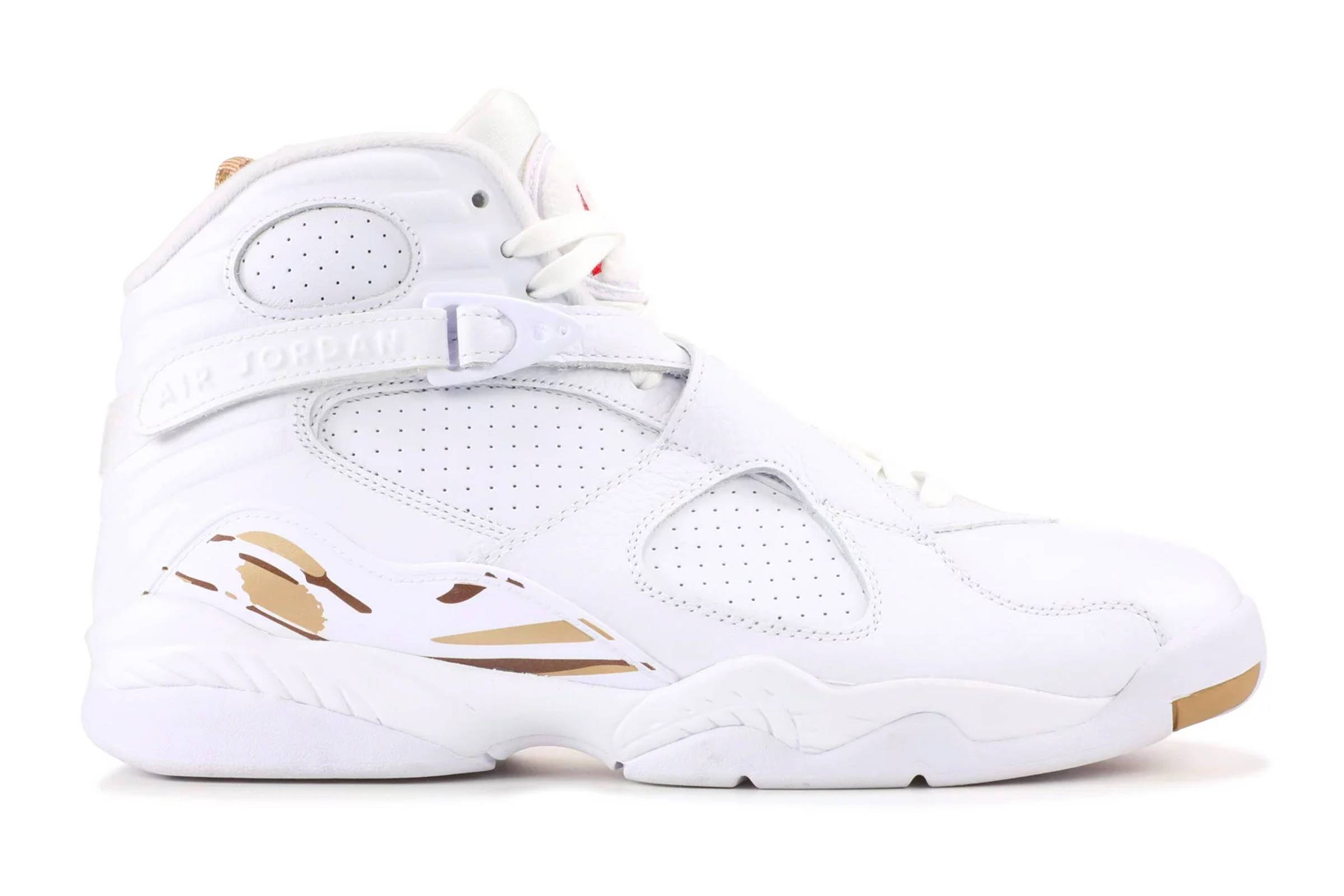 "OVO x Air Jordan VIII ""White"""