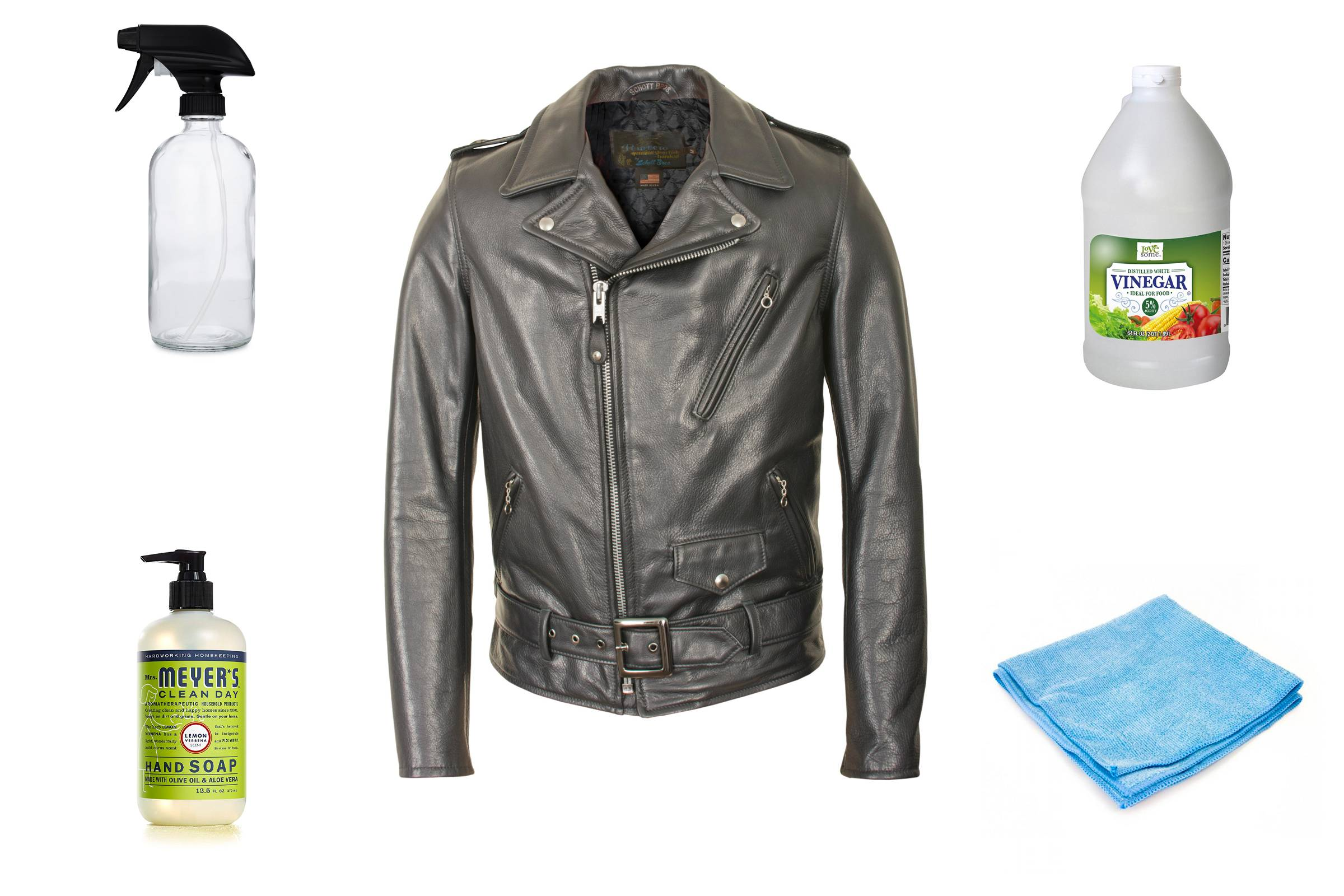 Removing Stains from Your Leather Jacket