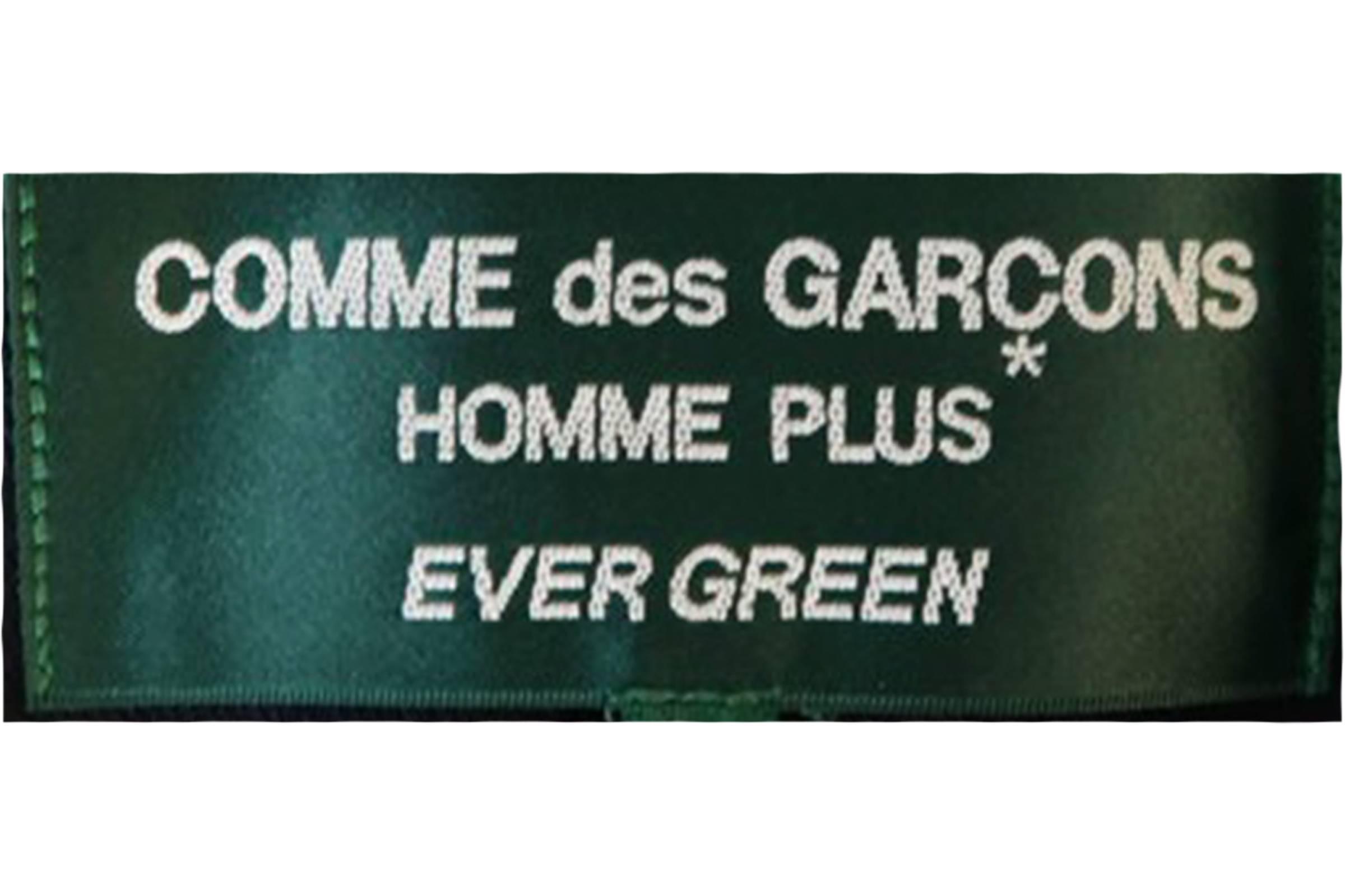 Comme des Garçons Homme Plus Evergreen