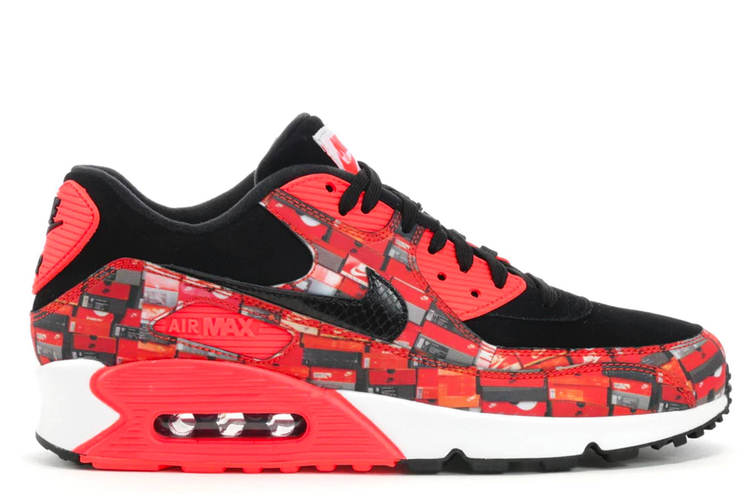 hot sale online 5c993 7ef5a atmos x Nike We Love Nike Air Max 90