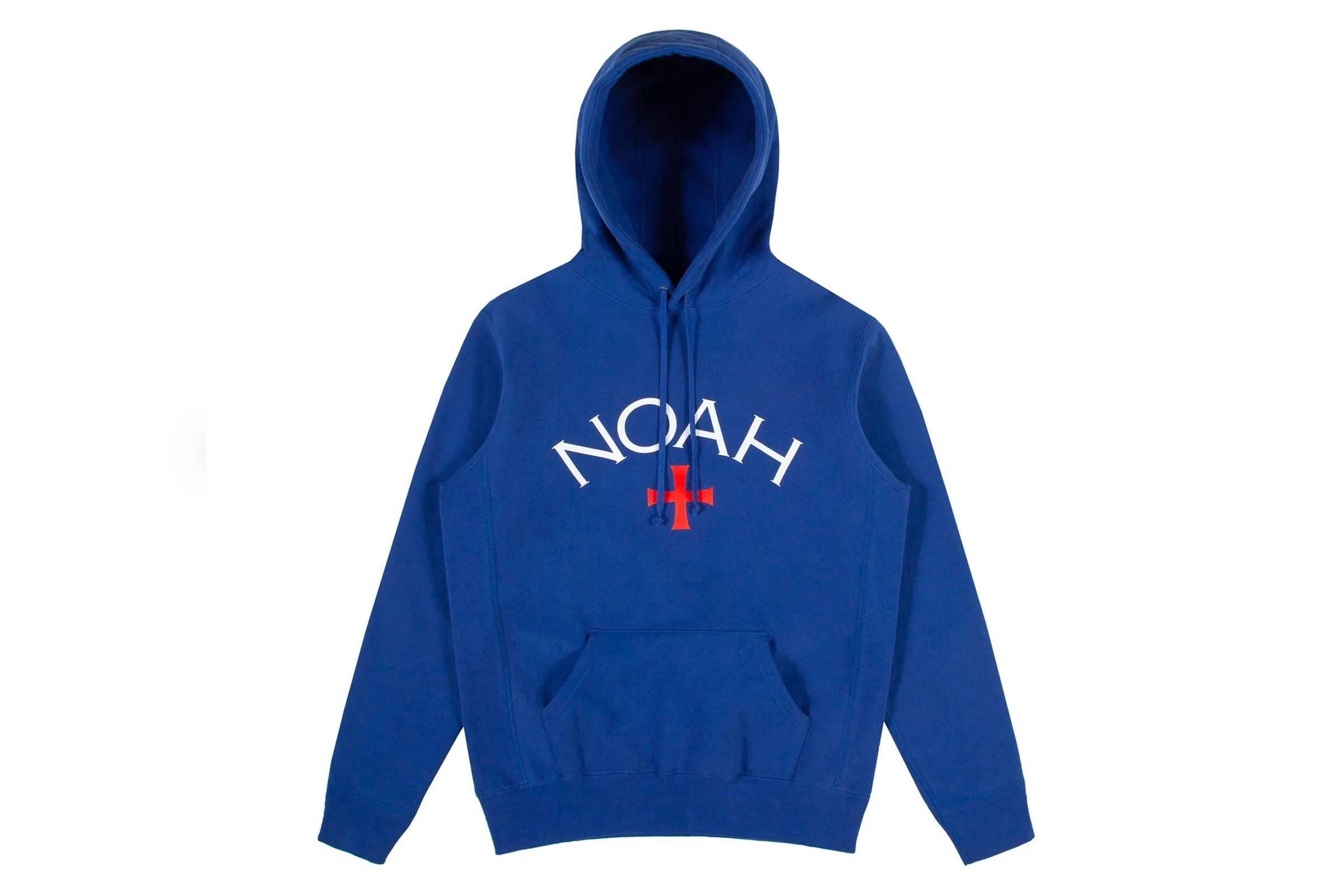 10. Noah Logo Hooded Sweatshirt