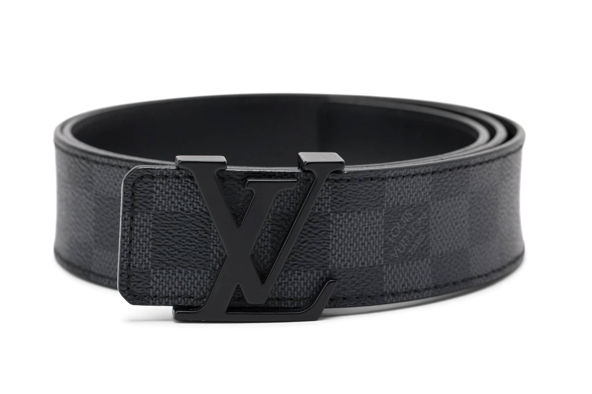 Louis Vuitton Damier Print 40MM Reversible Belt
