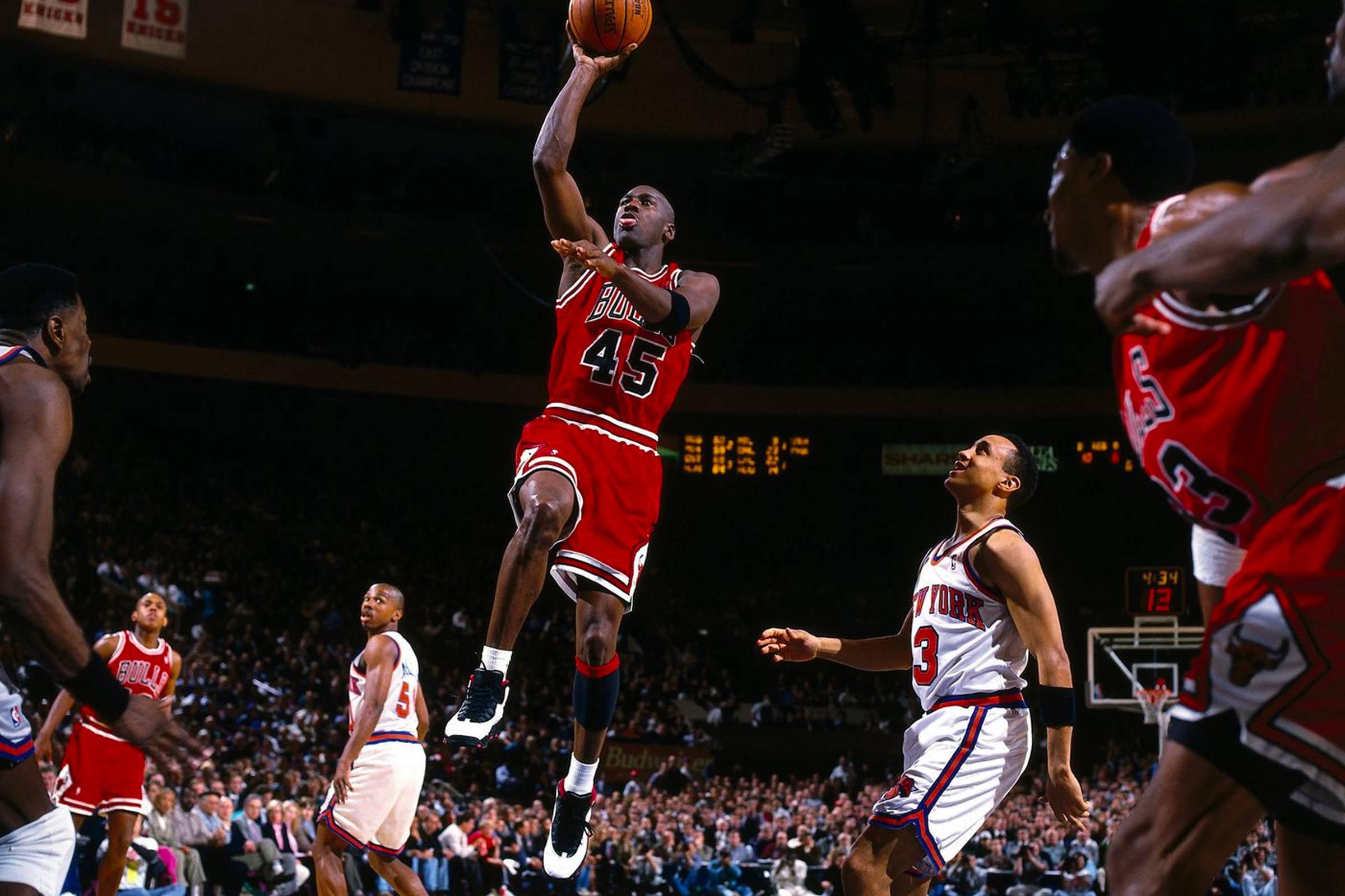 March 28, 1995, Chicago Bulls vs. New York Knicks