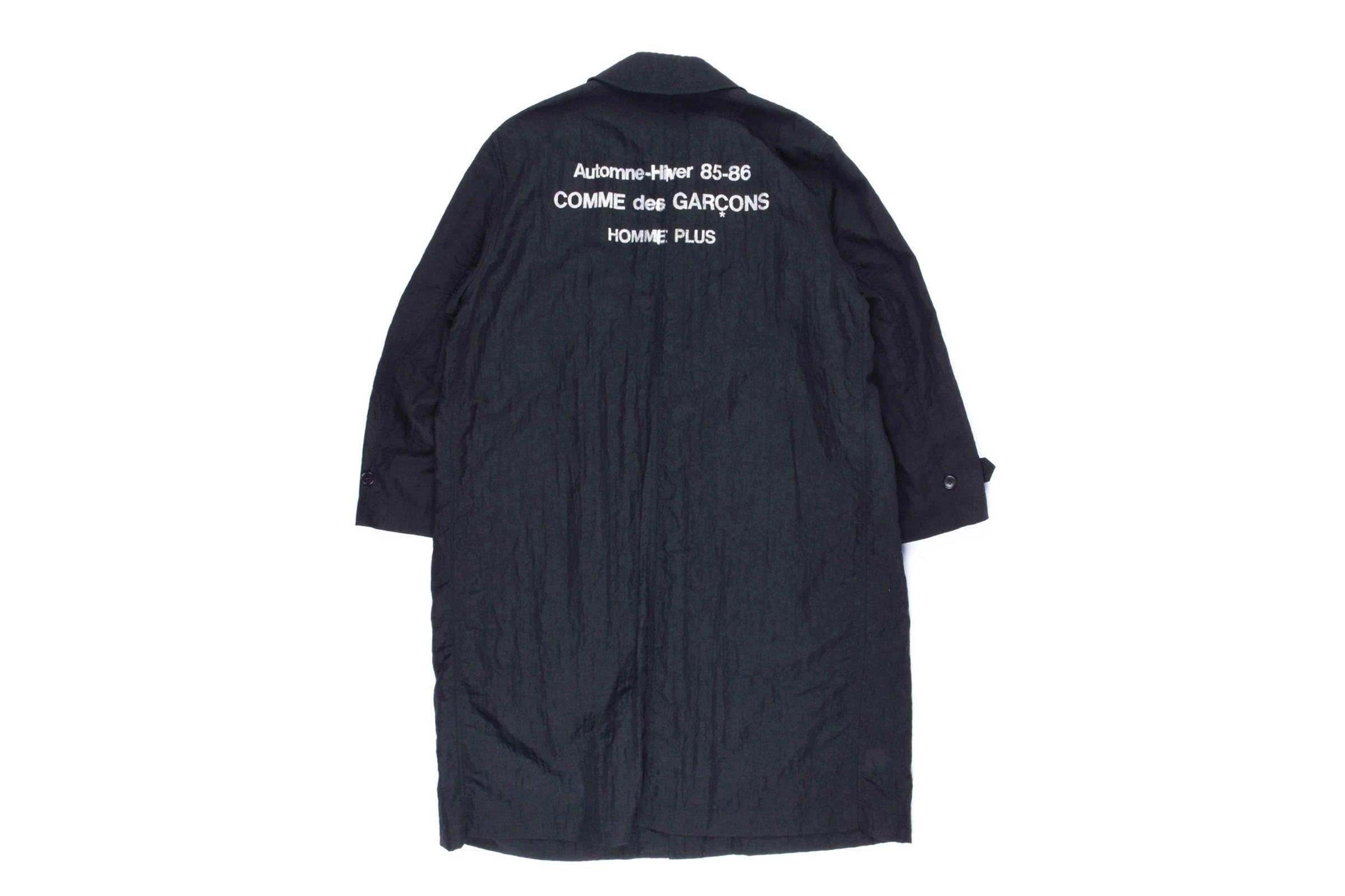 Comme des Garçons Homme Plus Staff Jacket