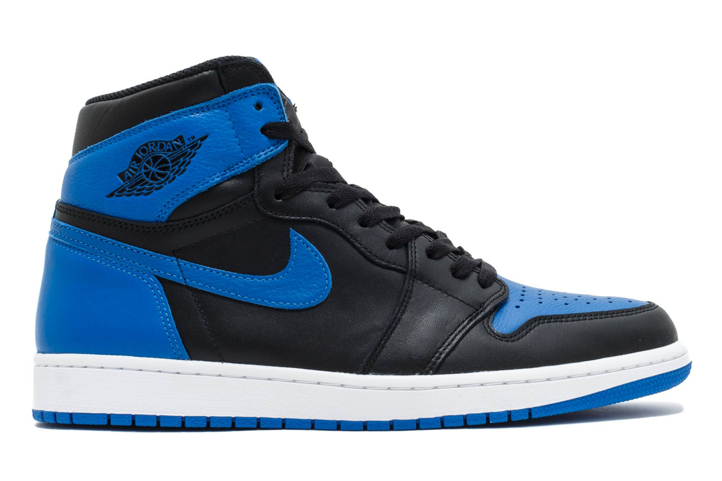 "Jordan 1 ""Black/Royal"""