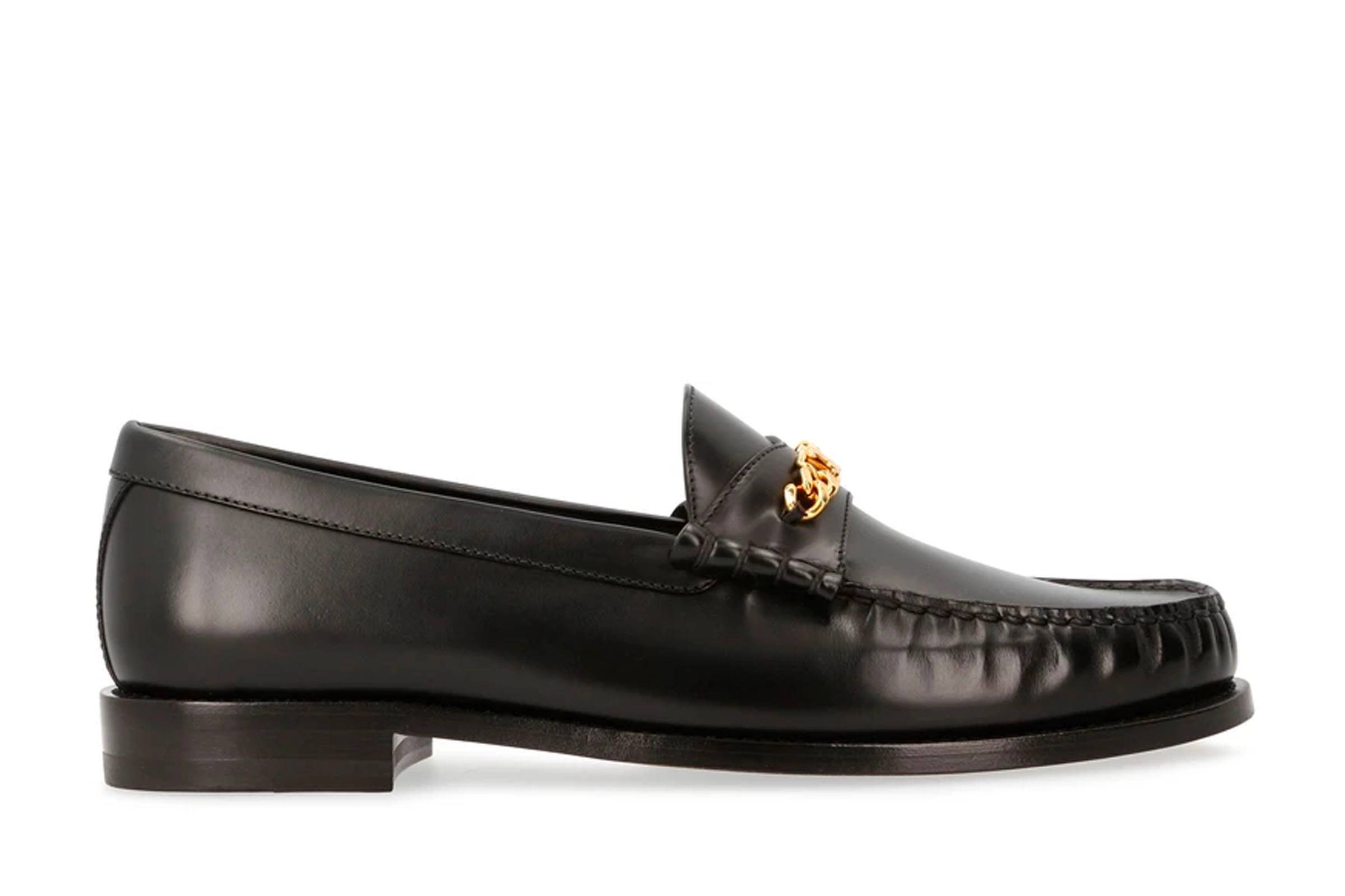 Celine Luco Triomphe Chain Loafer