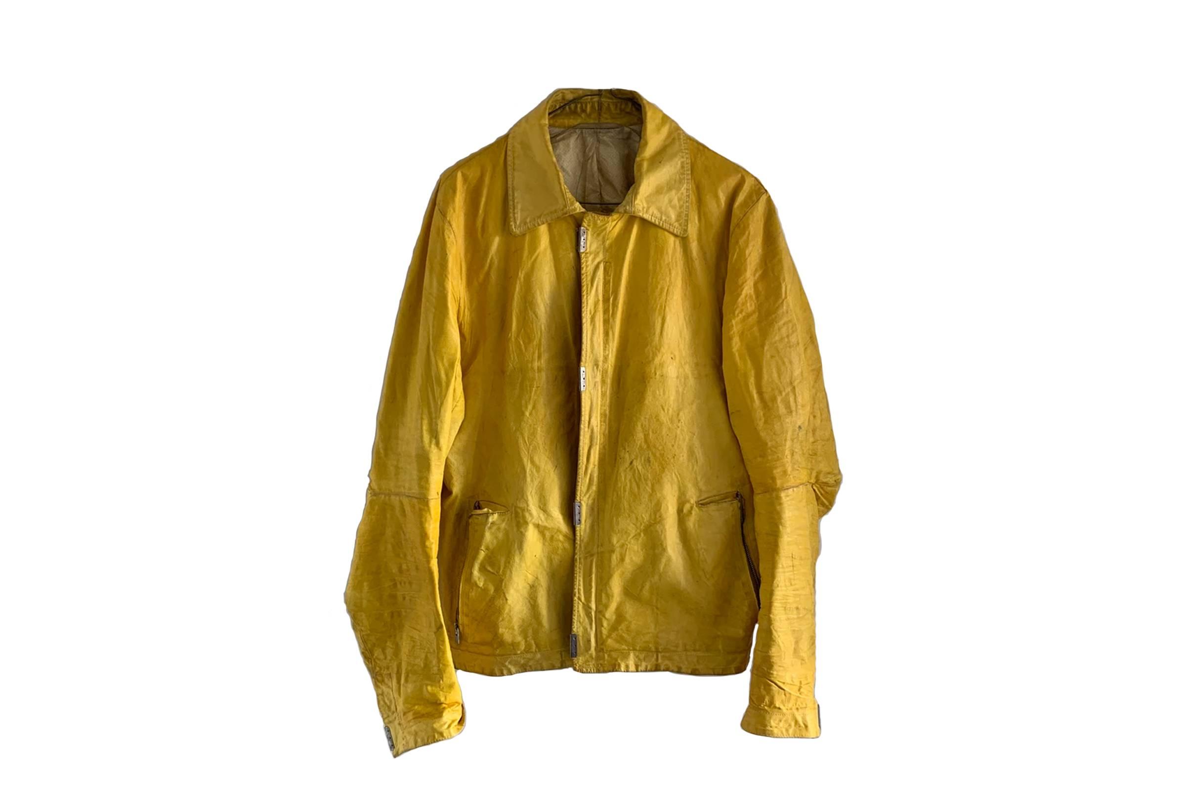 Carol Christian Poell Scarstich Leather Jacket