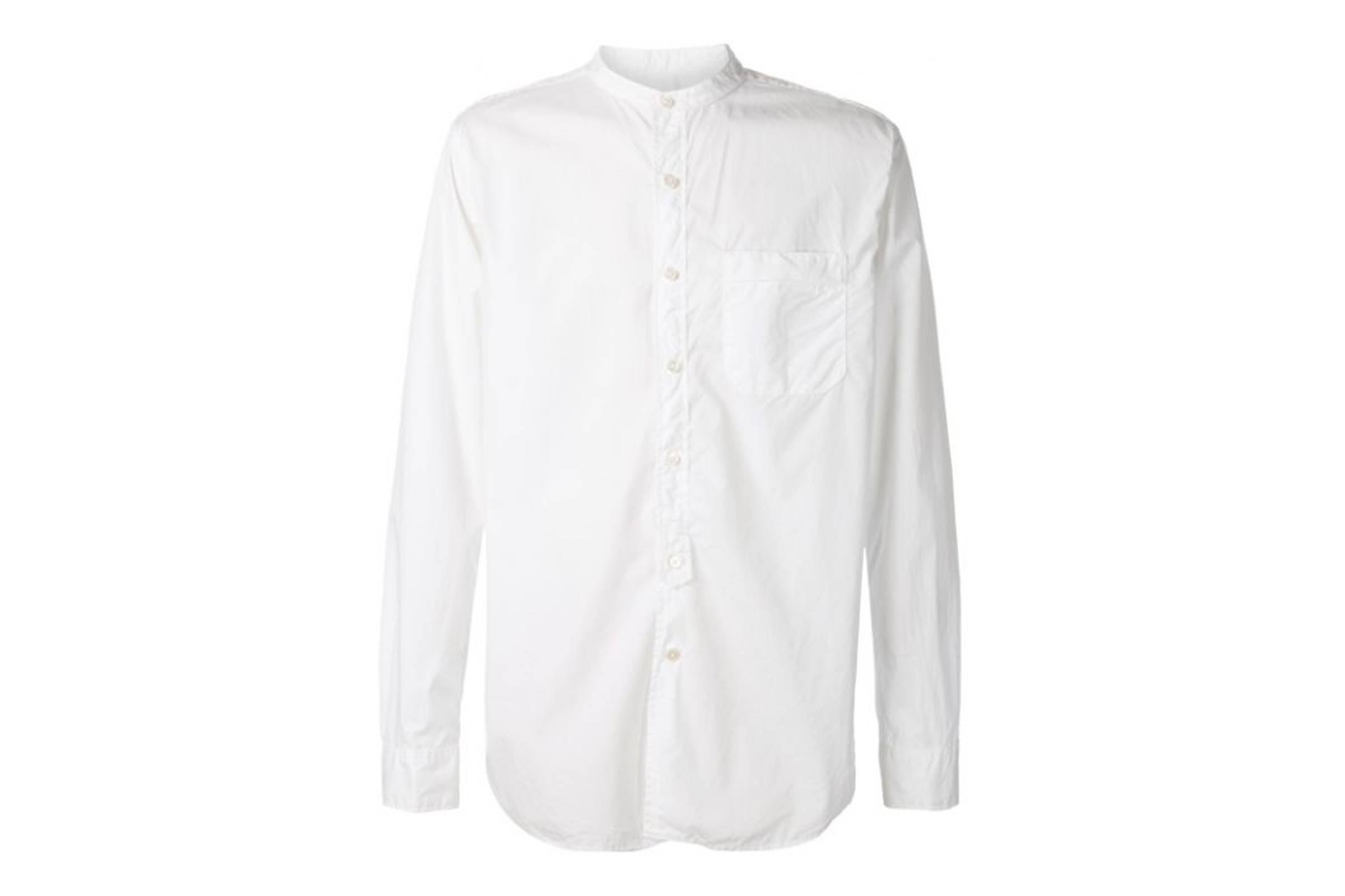 Engineered Garments Mandarin Collar Shirt