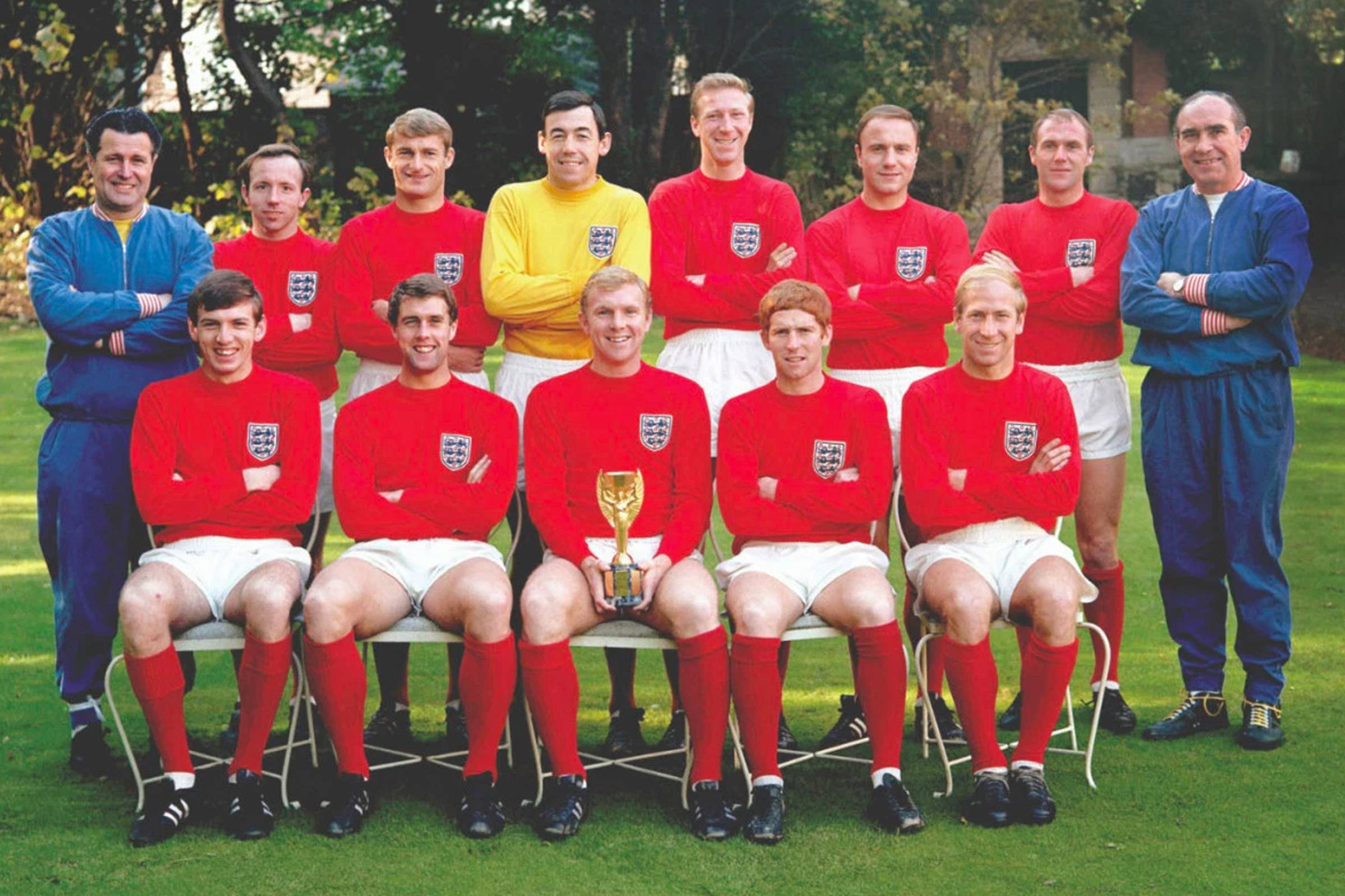 England Away Kit 1966