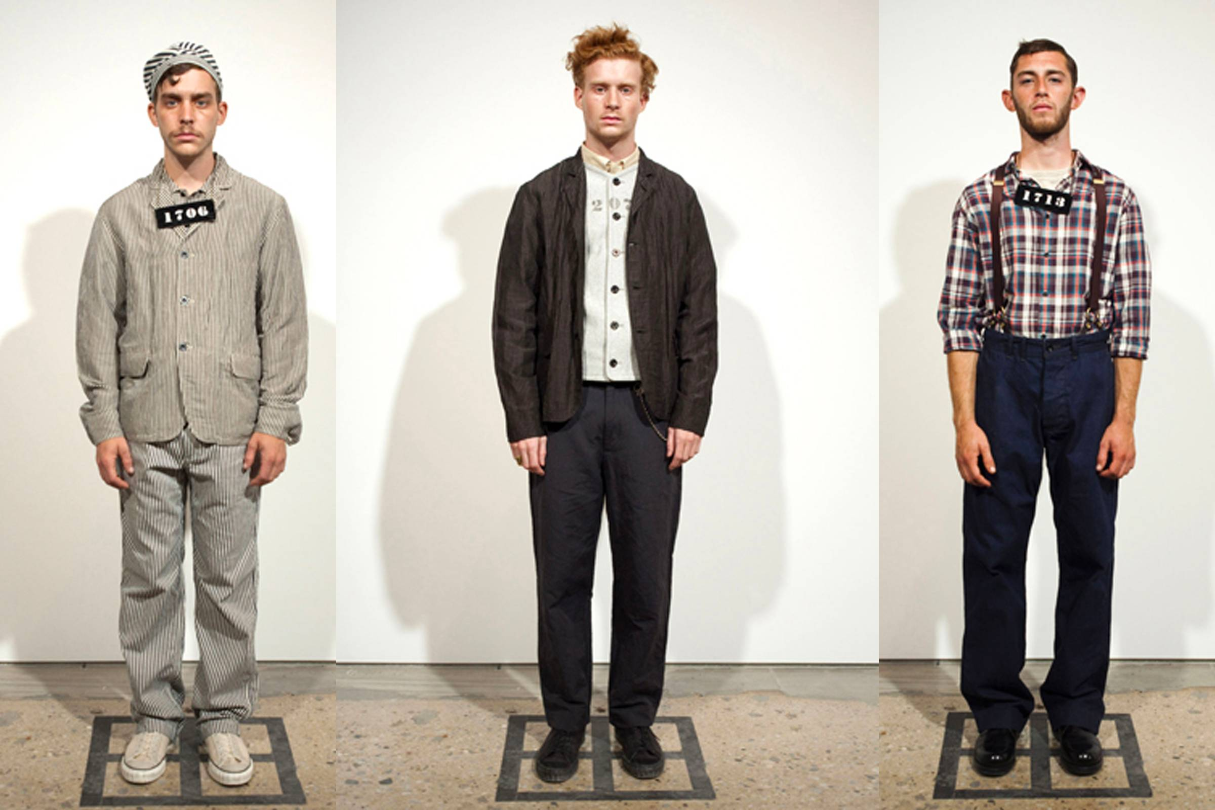 "Looks from N. Hoolywood's Spring/Summer 2011 ""Police Picture"" collection"