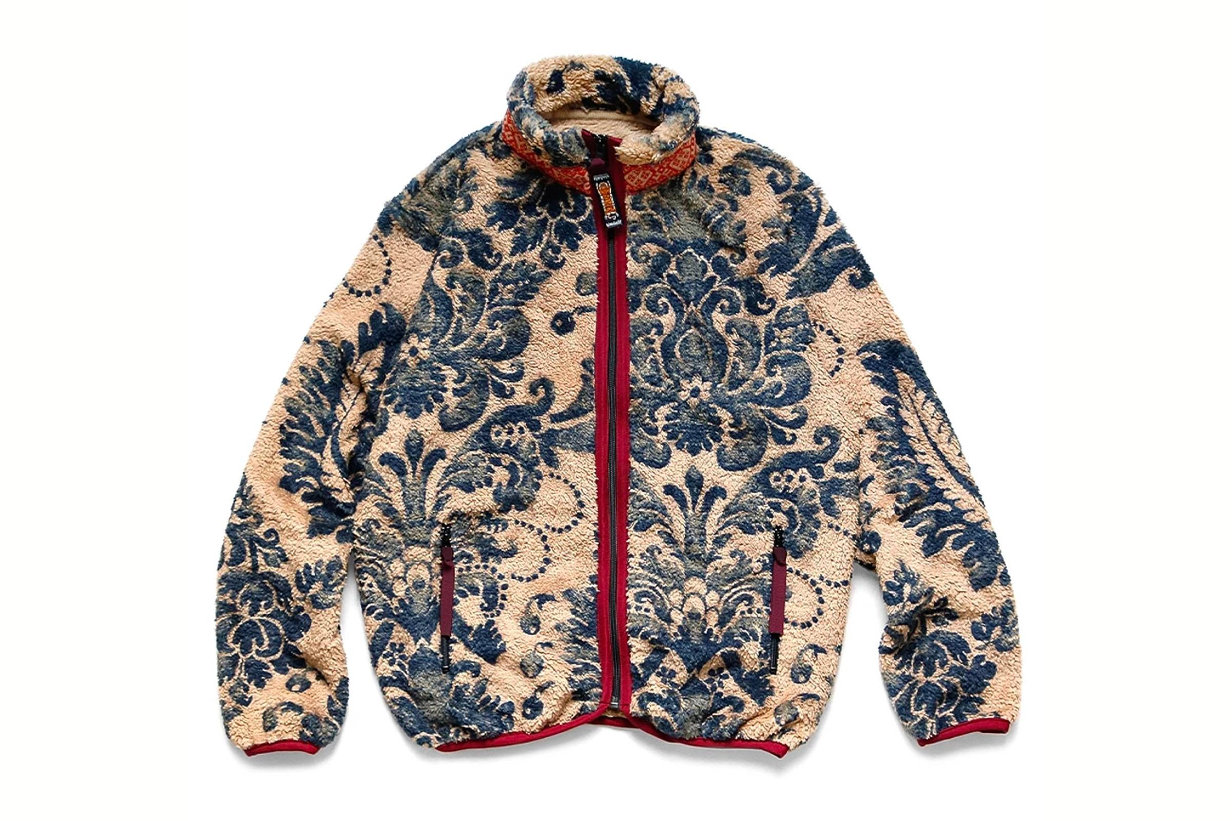 Kapital Damask Fleece Jacket