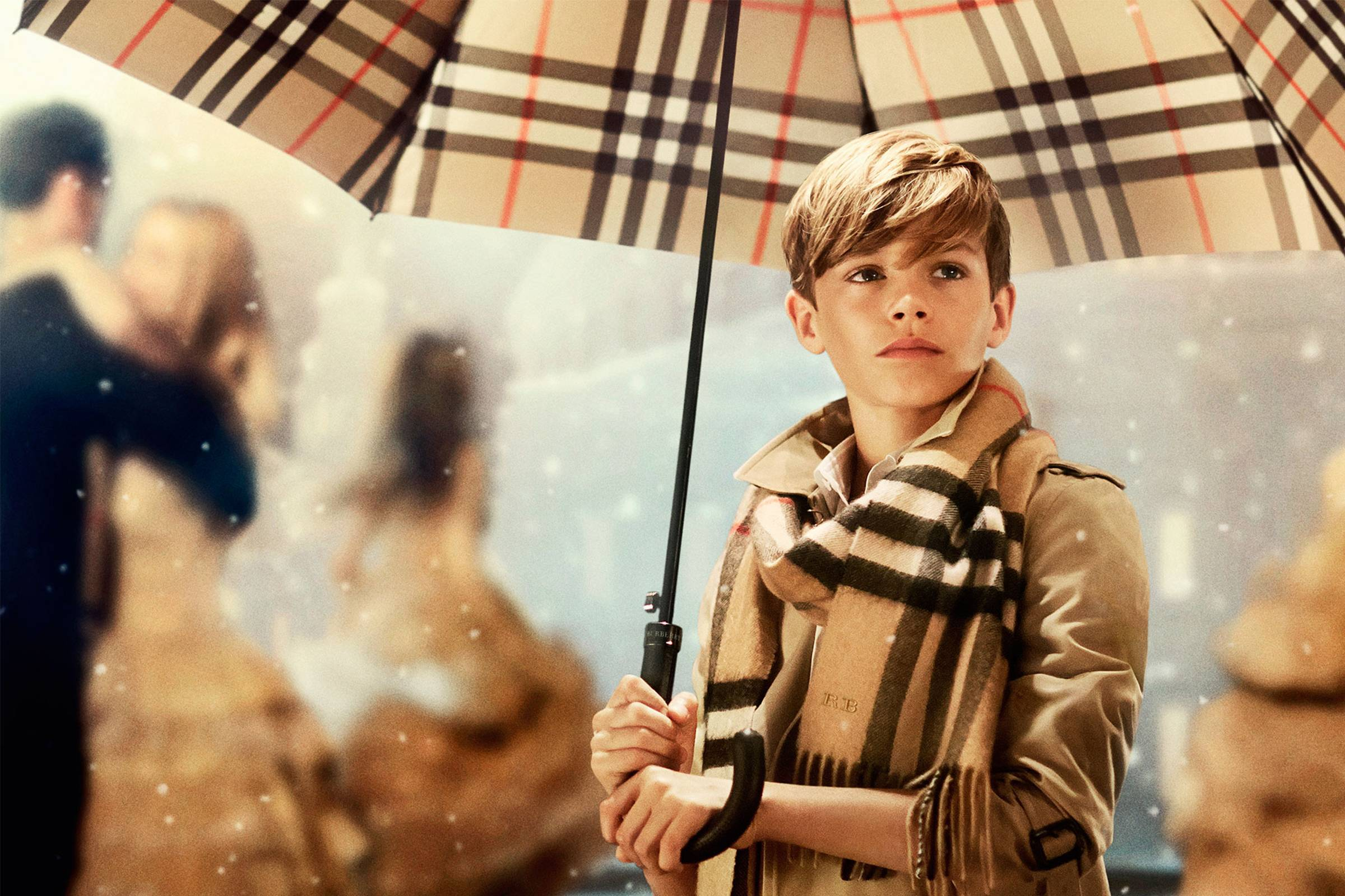 The History of Burberry's Check