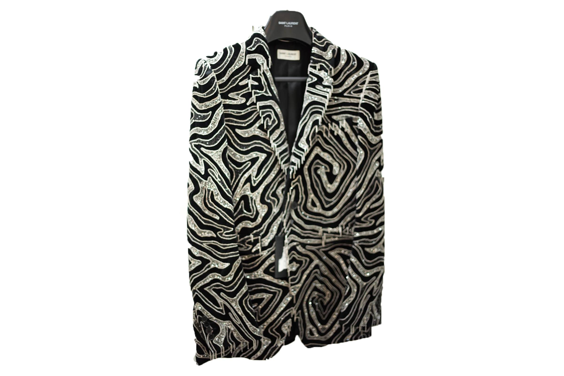 Saint Laurent Chained Maze Blazer