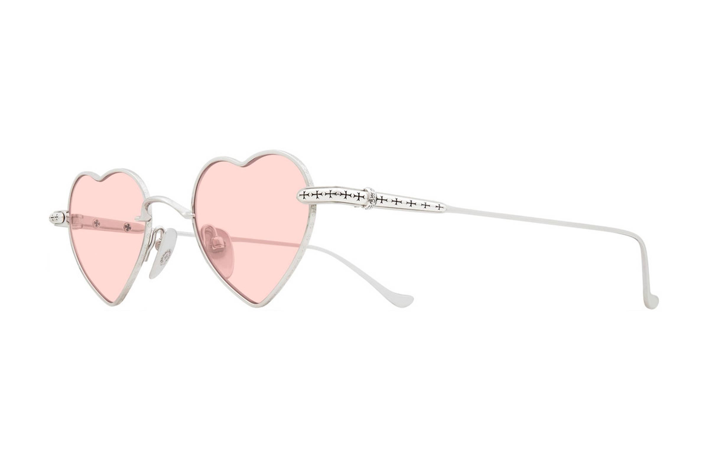 Chrome Hearts Heart-Shaped Sunglasses