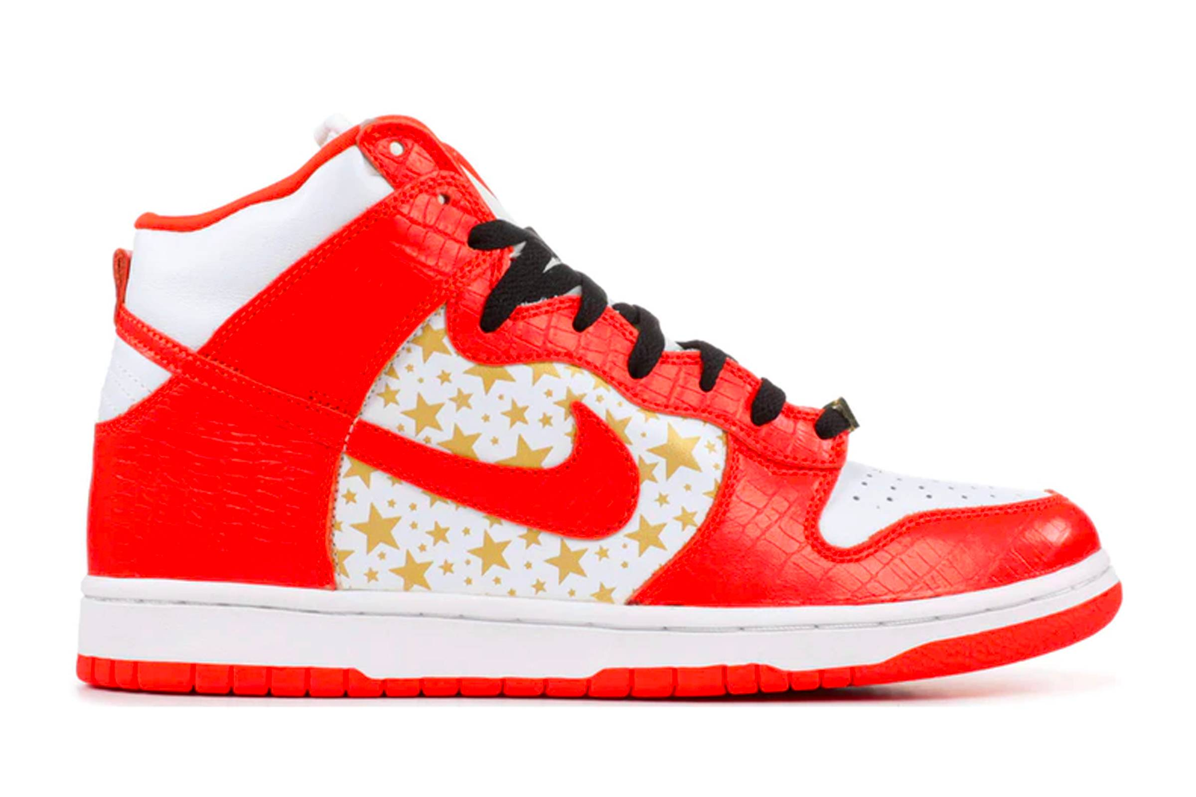 "Supreme x Nike SB Dunk High ""Orange"""