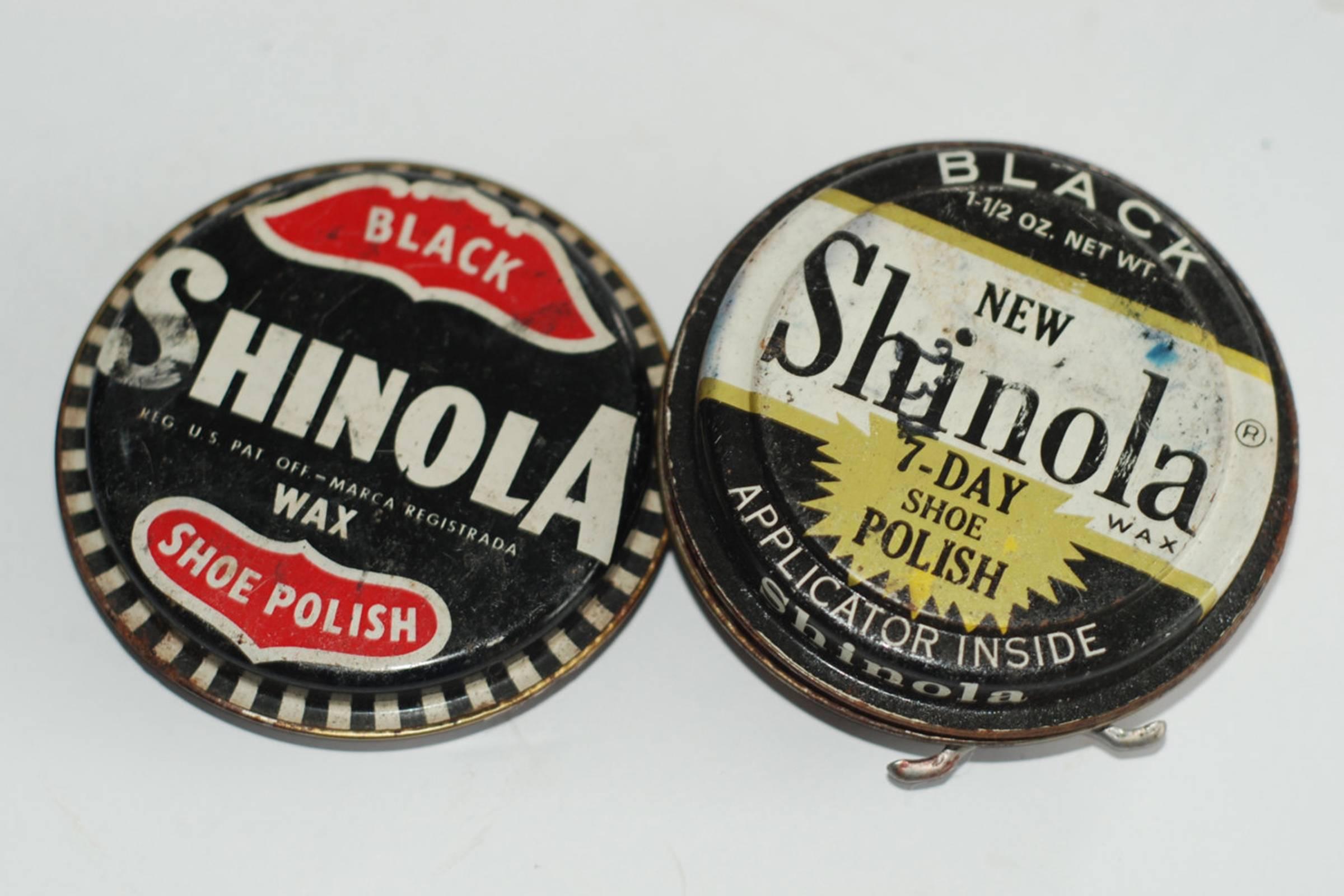 The last generation of Shinola Shoe Polish (c. 1950)