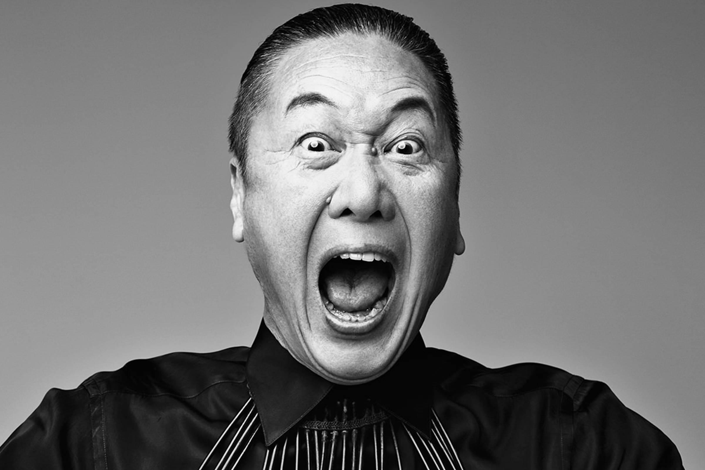 Kansai Yamamoto in the late '90s