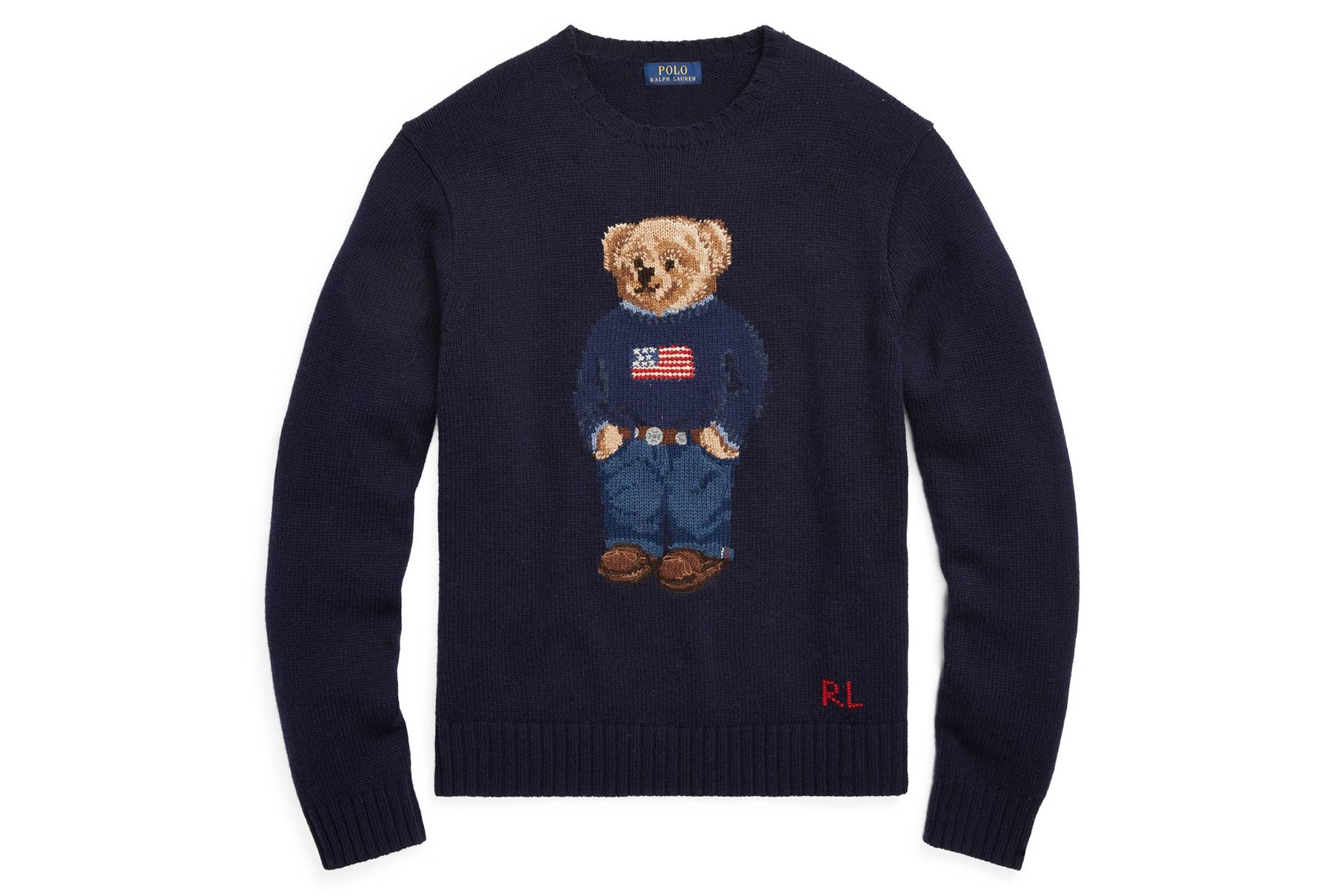 43cd8ec3 The signature Ralph Lauren Polo bear started as an inside joke among Ralph  Lauren employees. Inspired by Jerry Lauren's Steiff teddy bear collection  (which ...