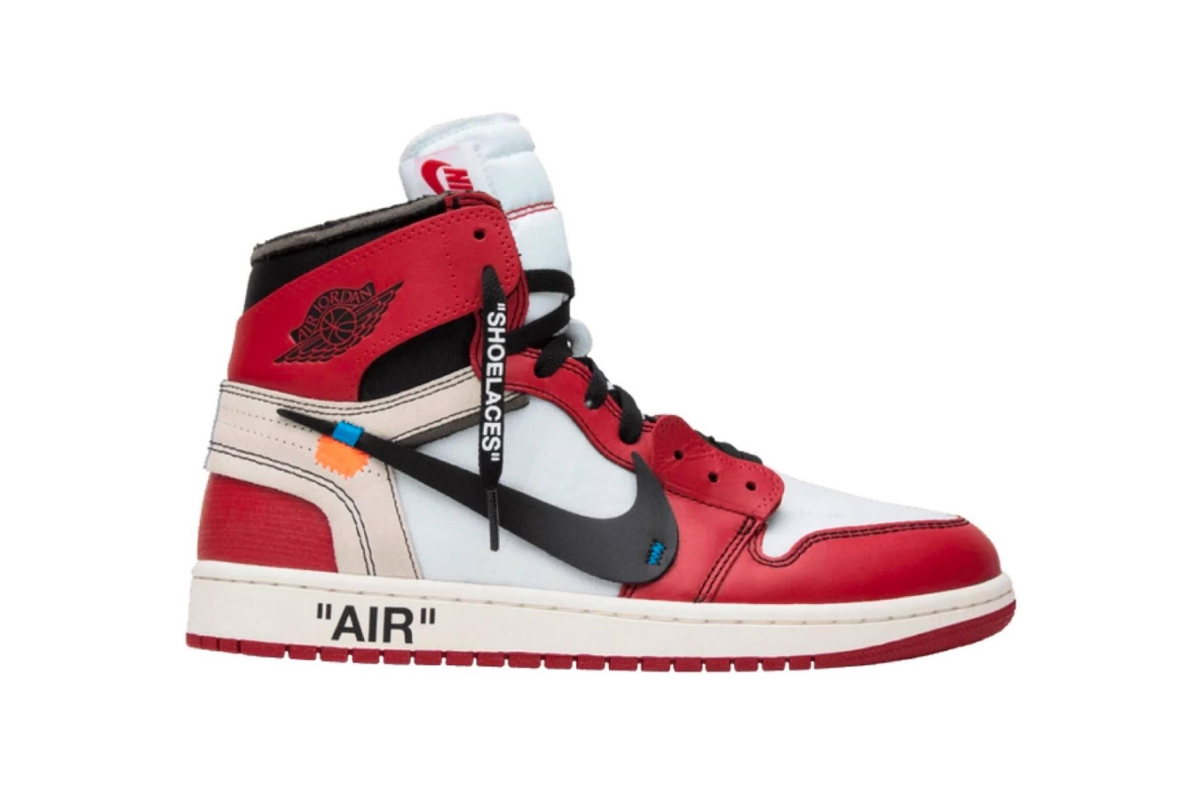 Off-White x Jordan 1 Retro High OG Chicago