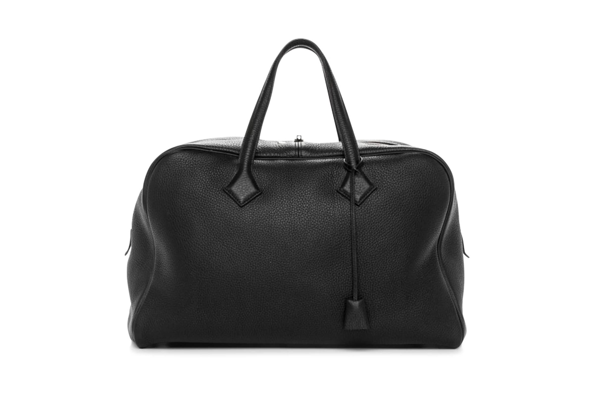Hermes Victoria 43 Hand Bag