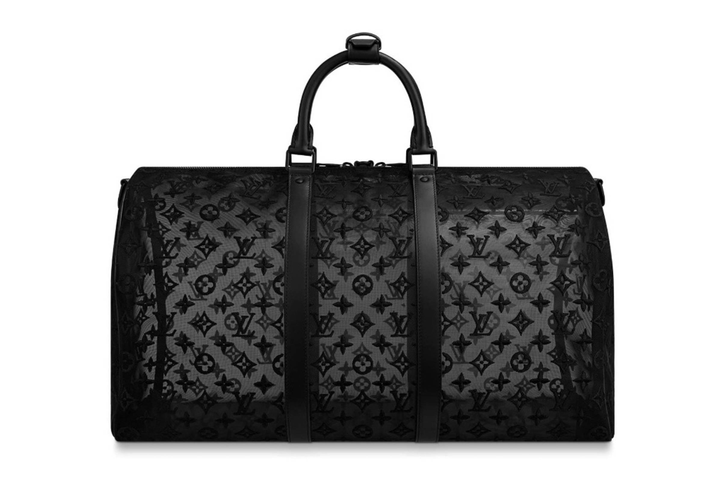 Louis Vuitton Fall/Winter 2019 Monogram Mesh Keepall 50