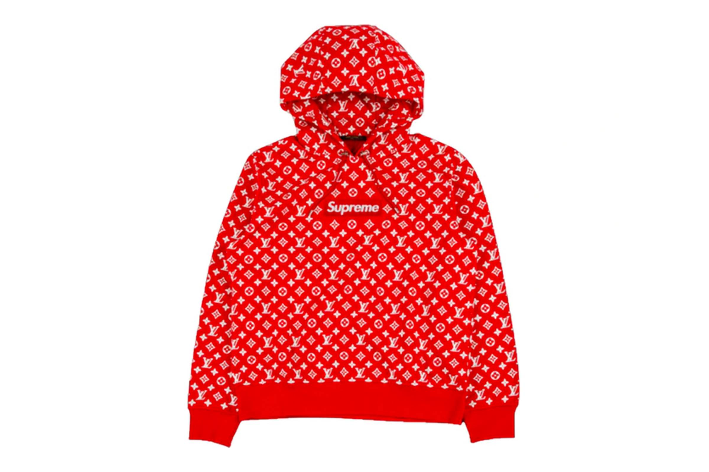 Supreme x Louis Vuitton Box Logo Hooded Sweatshirt