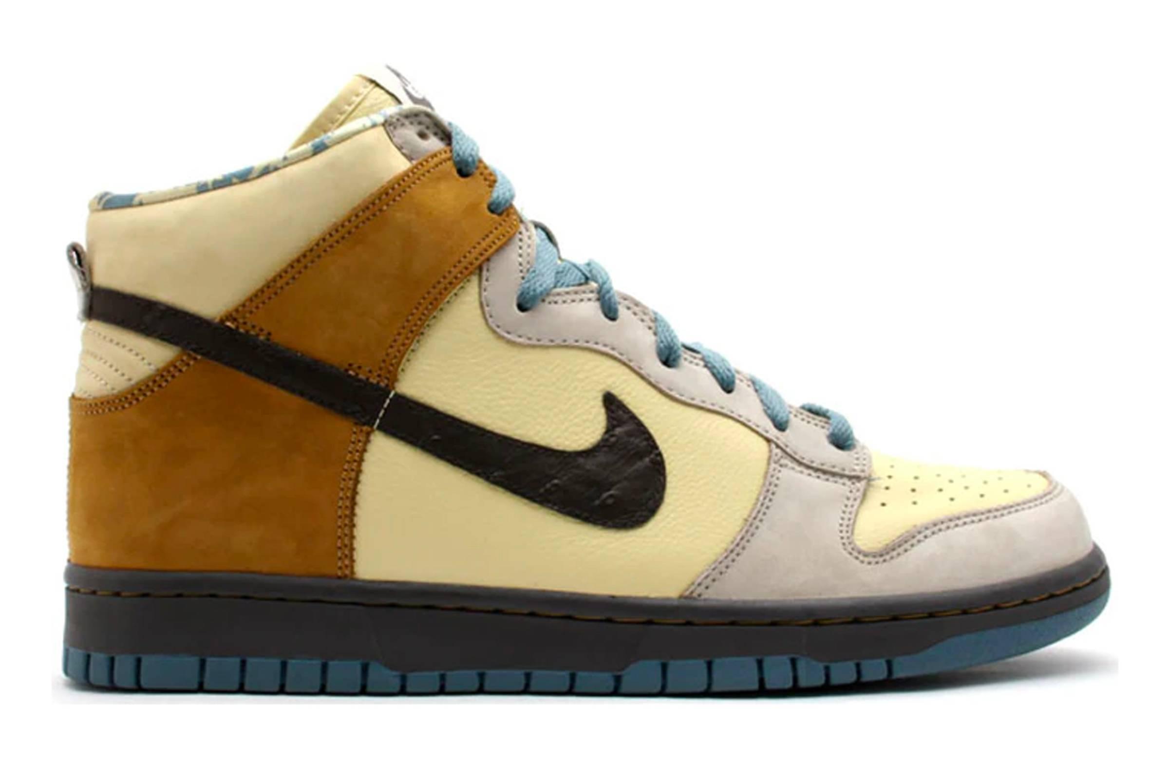"""Nike Dunk High """"Lemonade/Light Sand"""""""