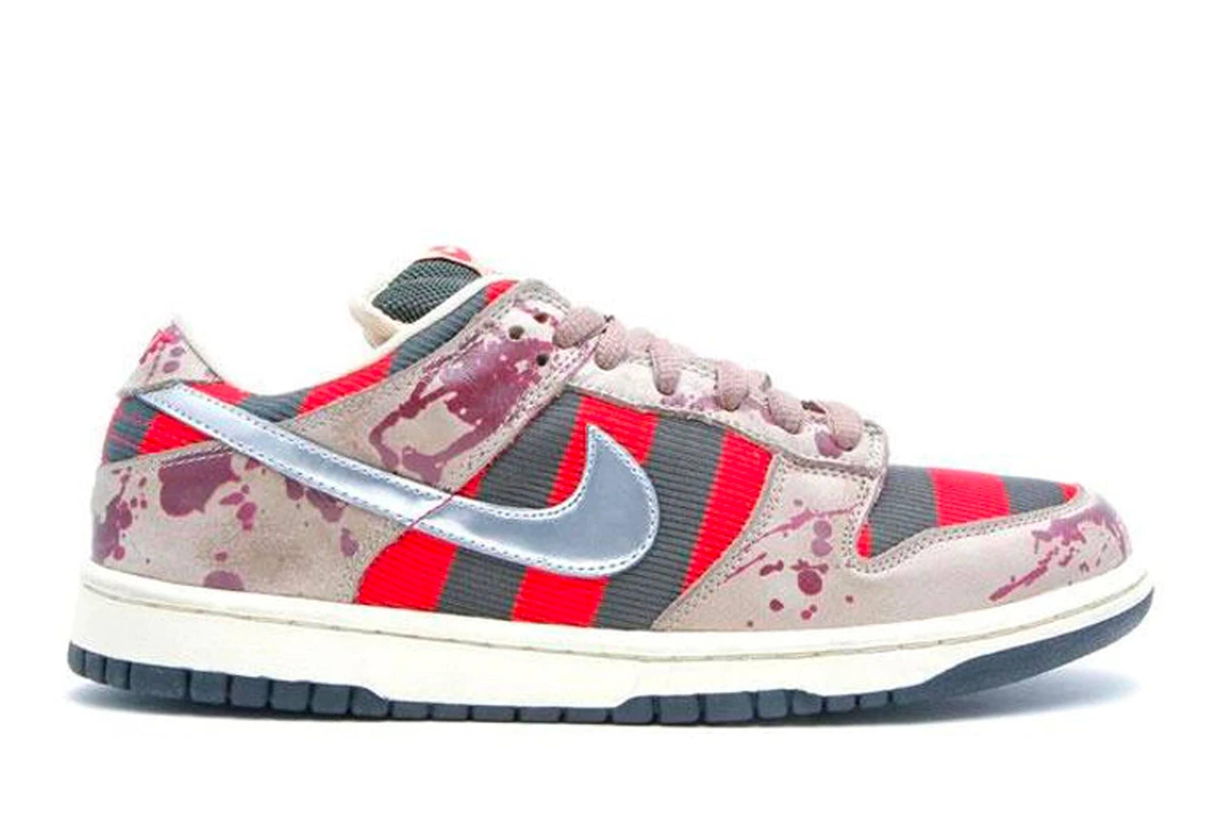 "5. Nike SB Dunk Low ""Freddy Krueger"""