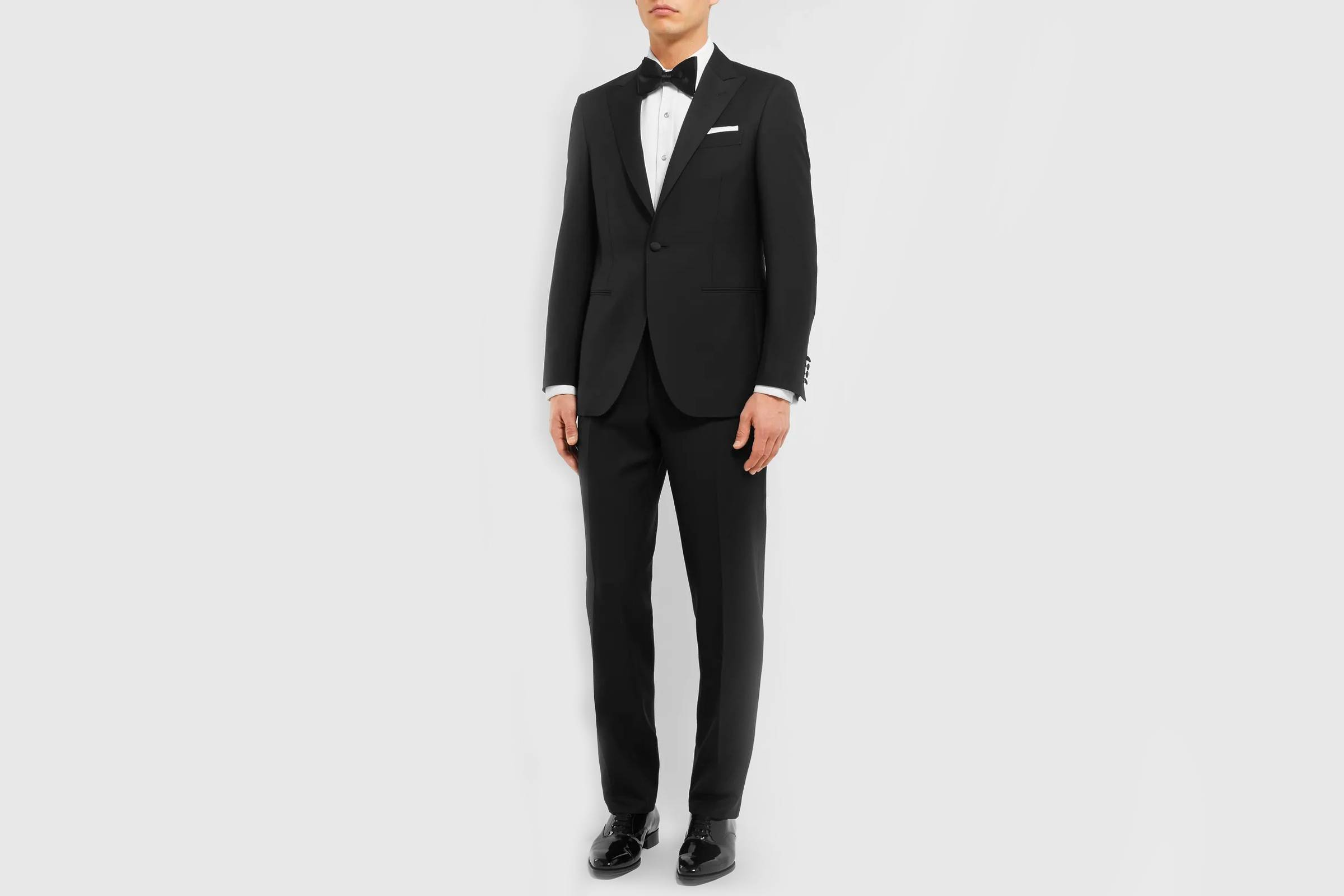 Types of Suits: Tuxedo or Evening Wear - Wool